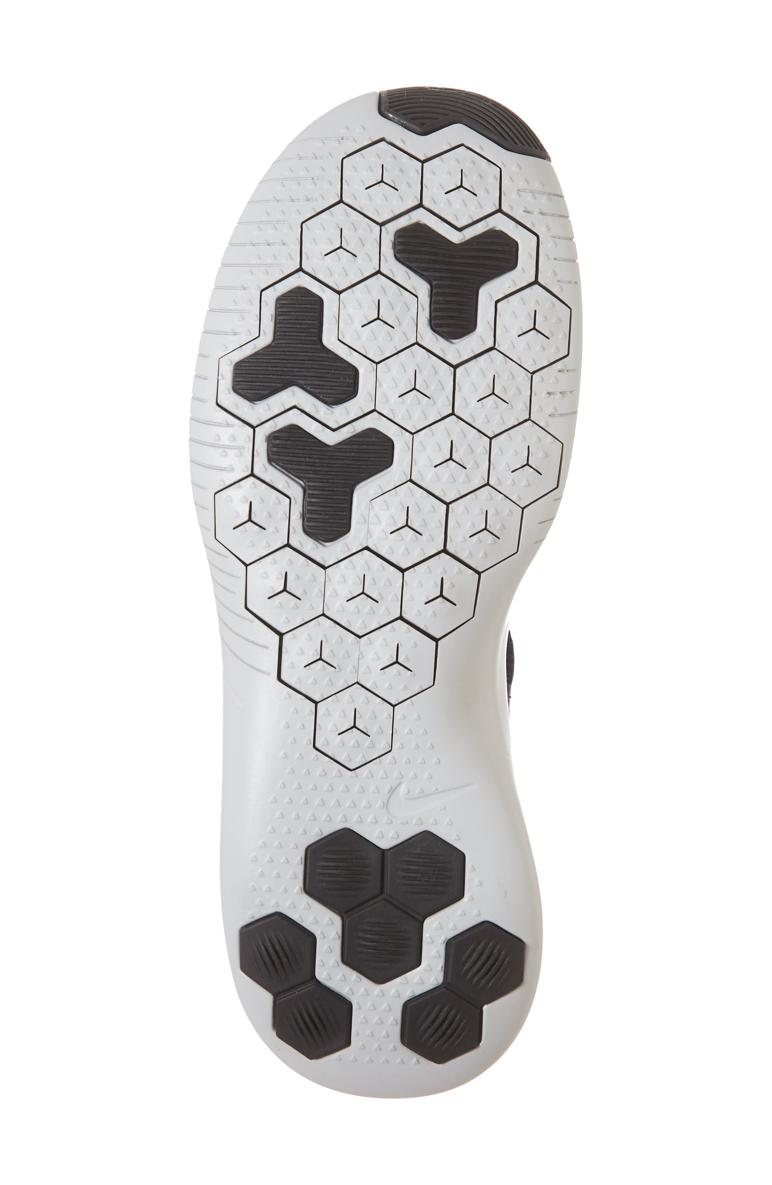 Free TR Flyknit 3 Training Shoe,                             Alternate thumbnail 6, color,                             BURGUNDY ASH/ VAST GREY