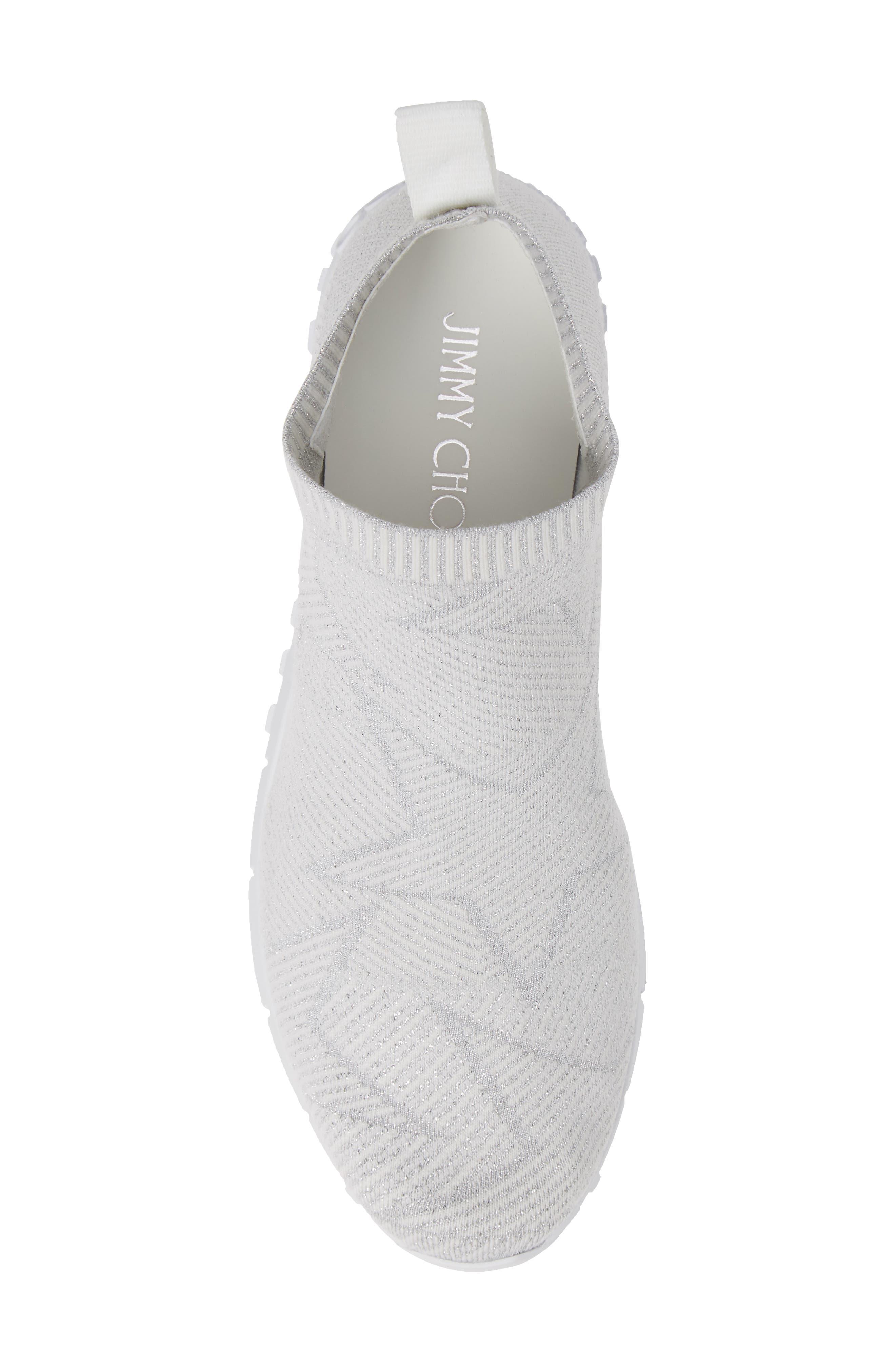 Norway Star Slip-On Sneaker,                             Alternate thumbnail 5, color,                             WHITE