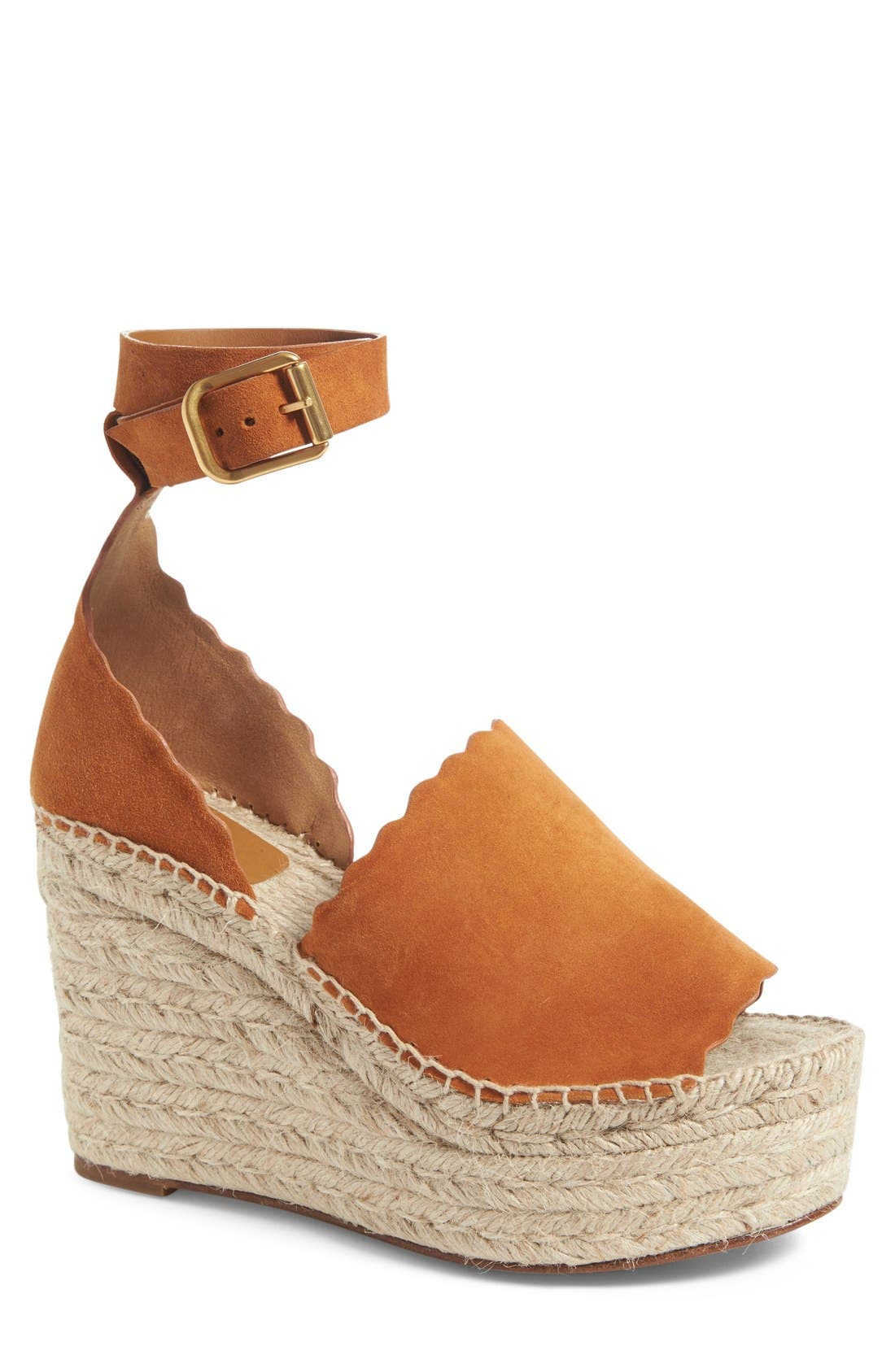 Lauren Espadrille Wedge Sandal,                             Main thumbnail 2, color,