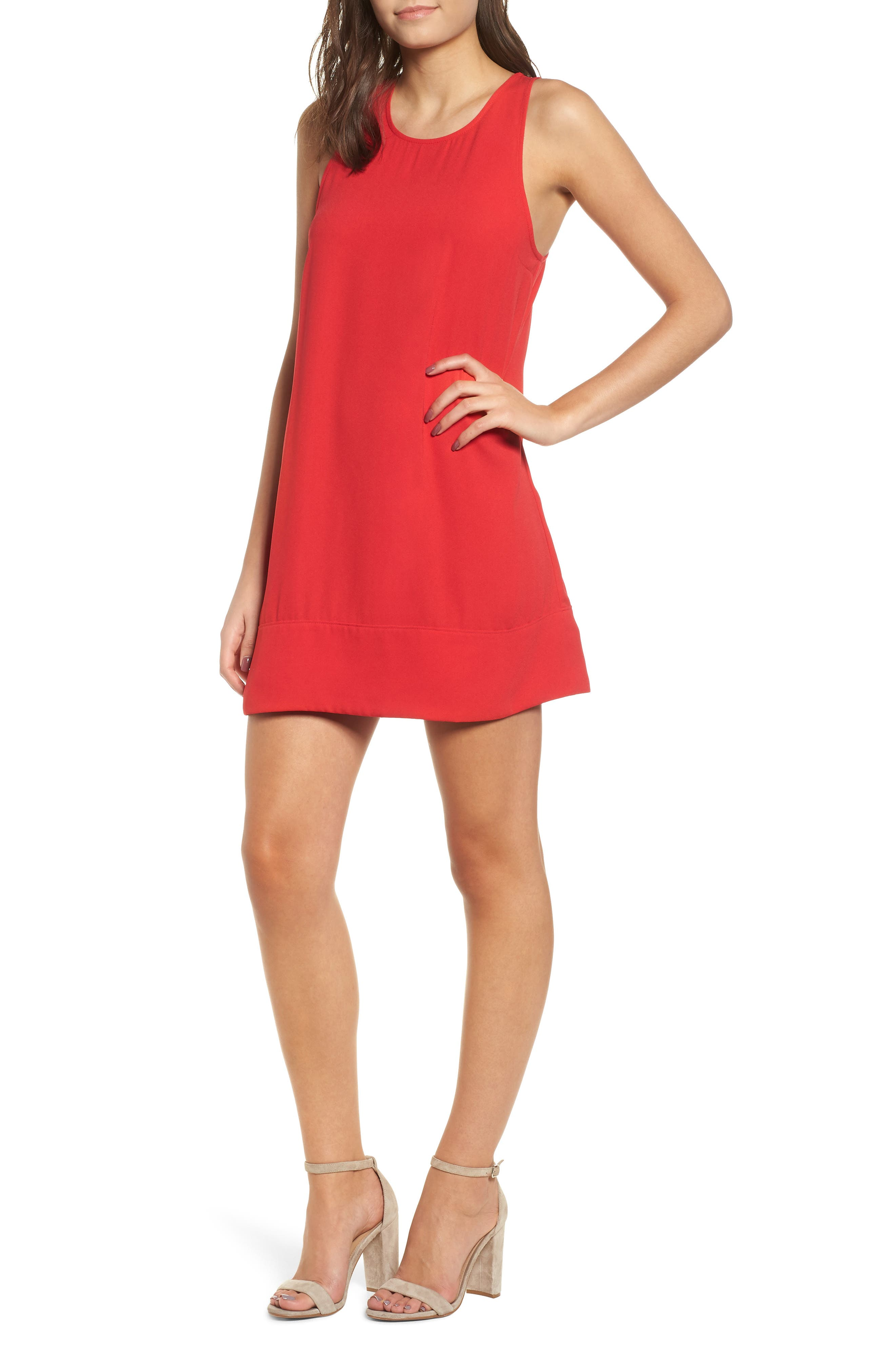Racerback Shift Dress,                             Main thumbnail 19, color,