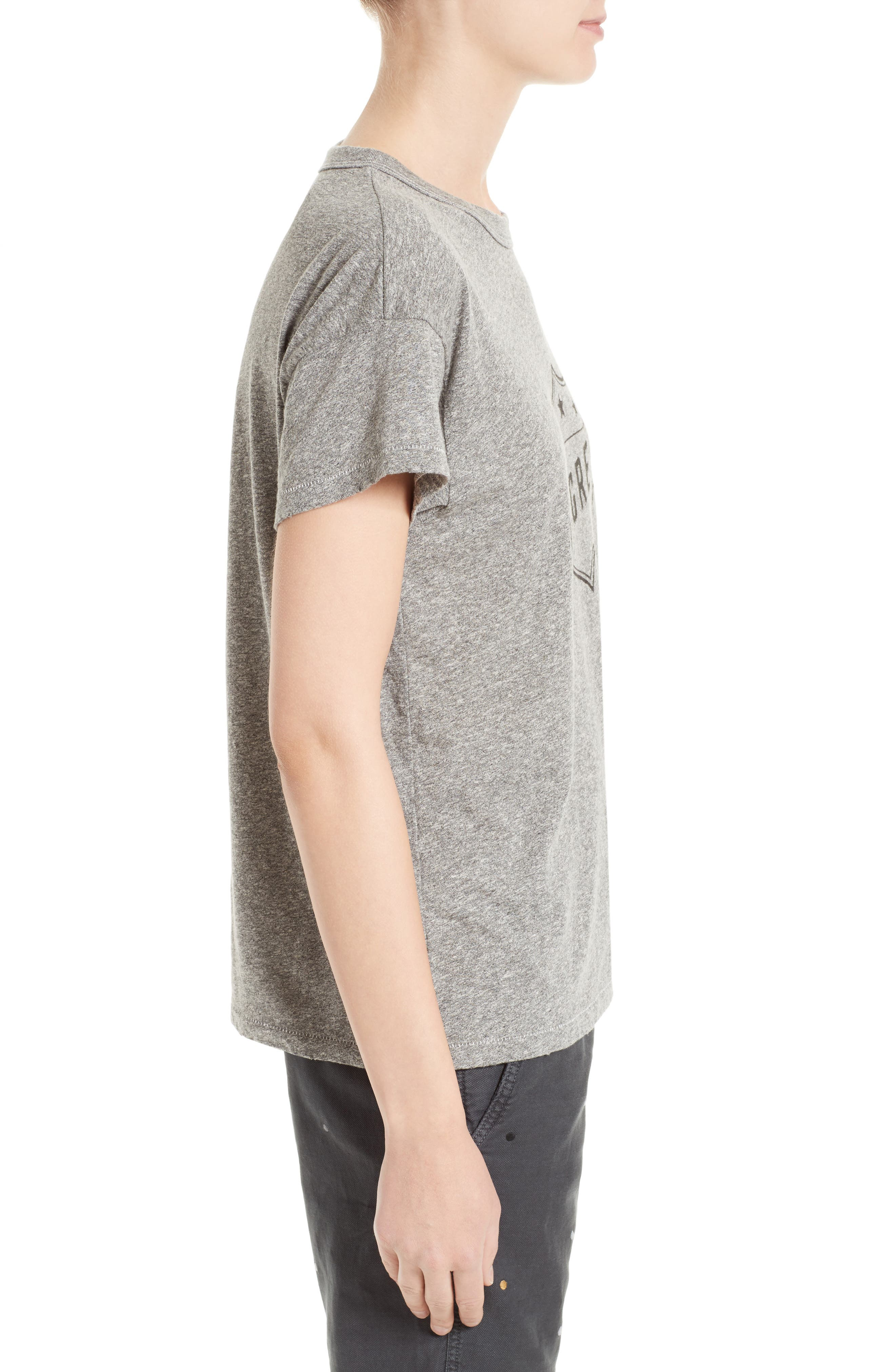 The Boxy Crew Tee,                             Alternate thumbnail 3, color,                             020
