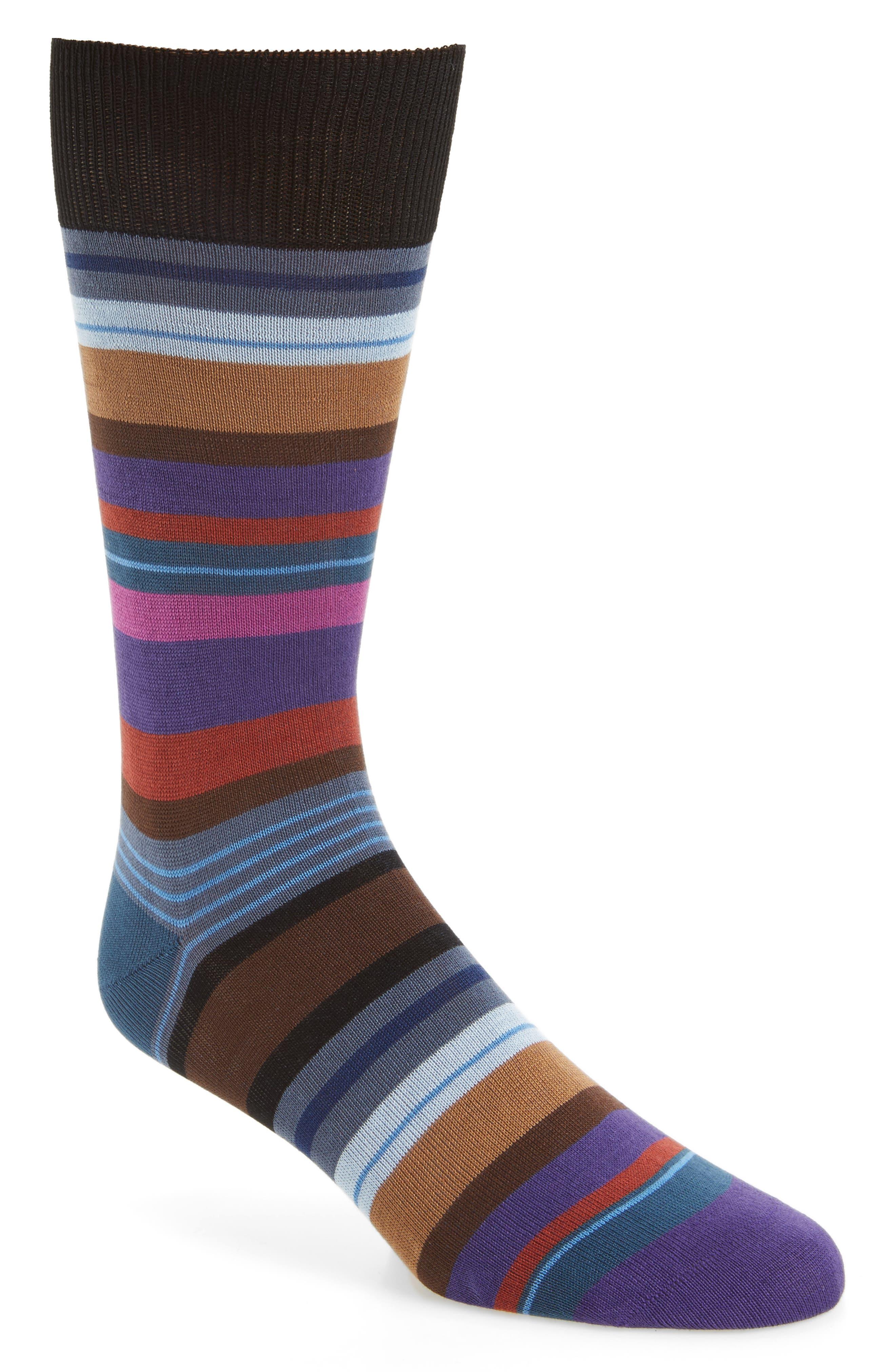 Halentoe Stripe Socks,                             Main thumbnail 1, color,                             001