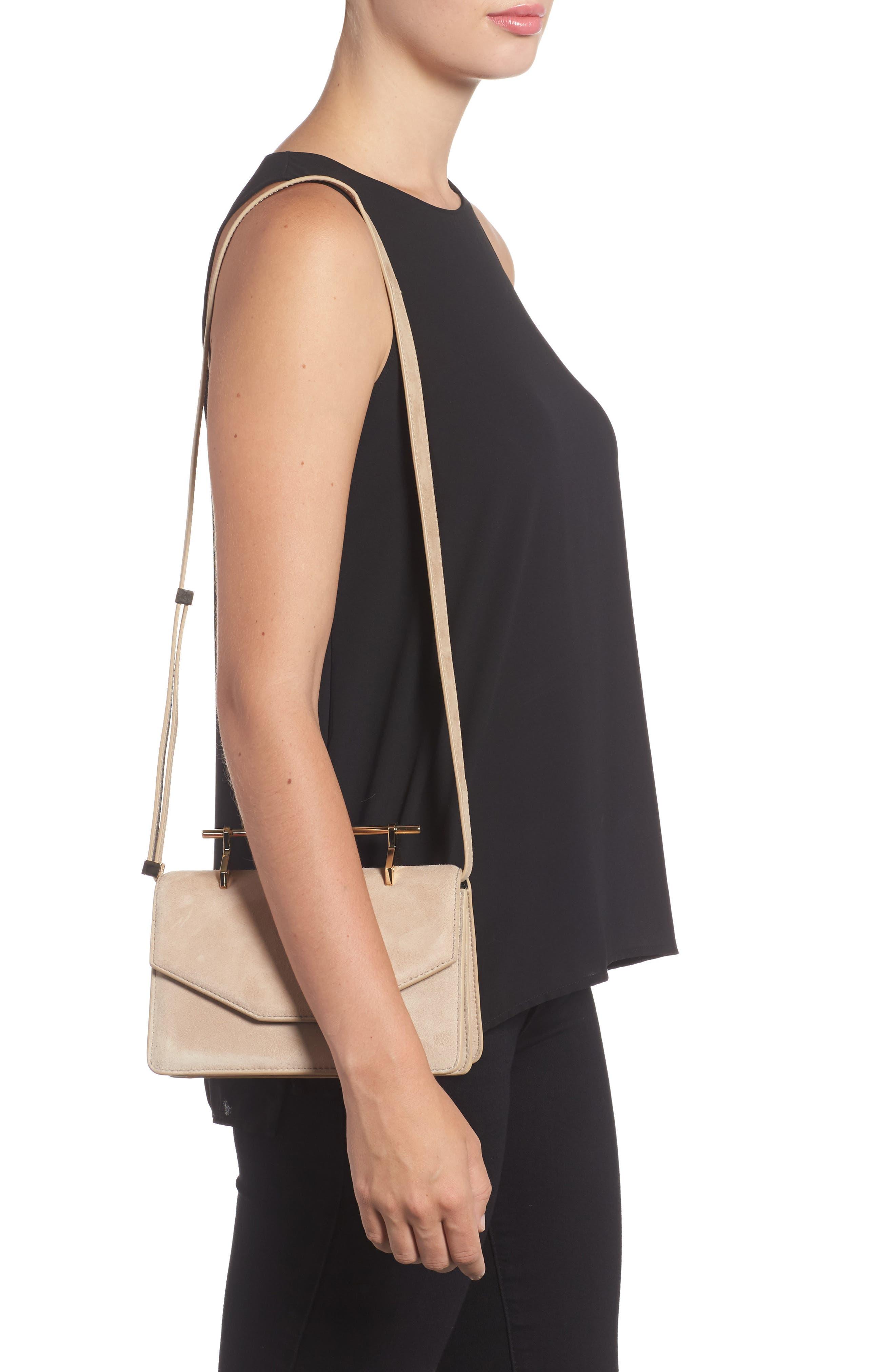 Indre Suede Shoulder Bag,                             Alternate thumbnail 2, color,                             200