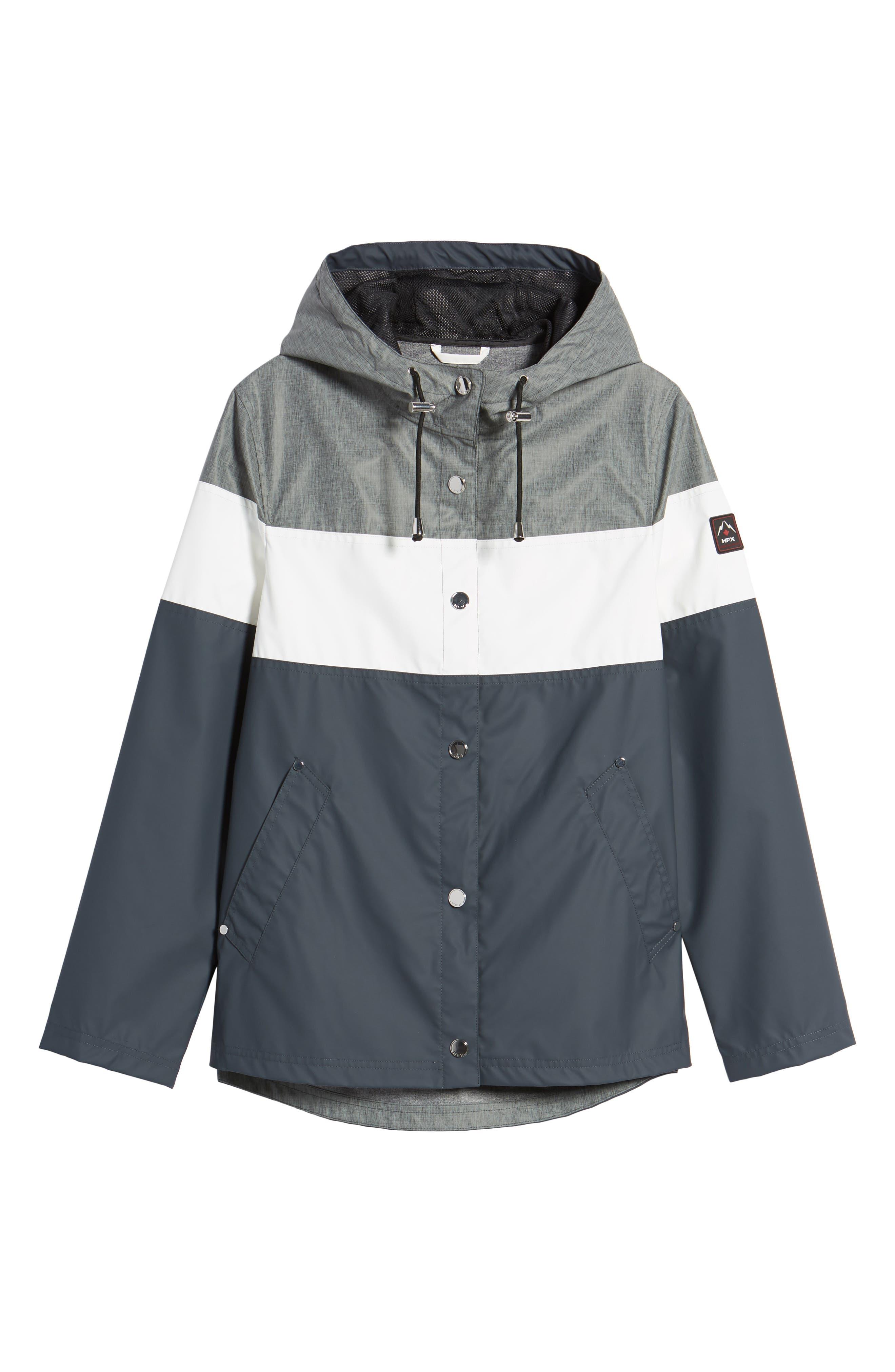 Hooded Raincoat,                             Alternate thumbnail 5, color,                             007