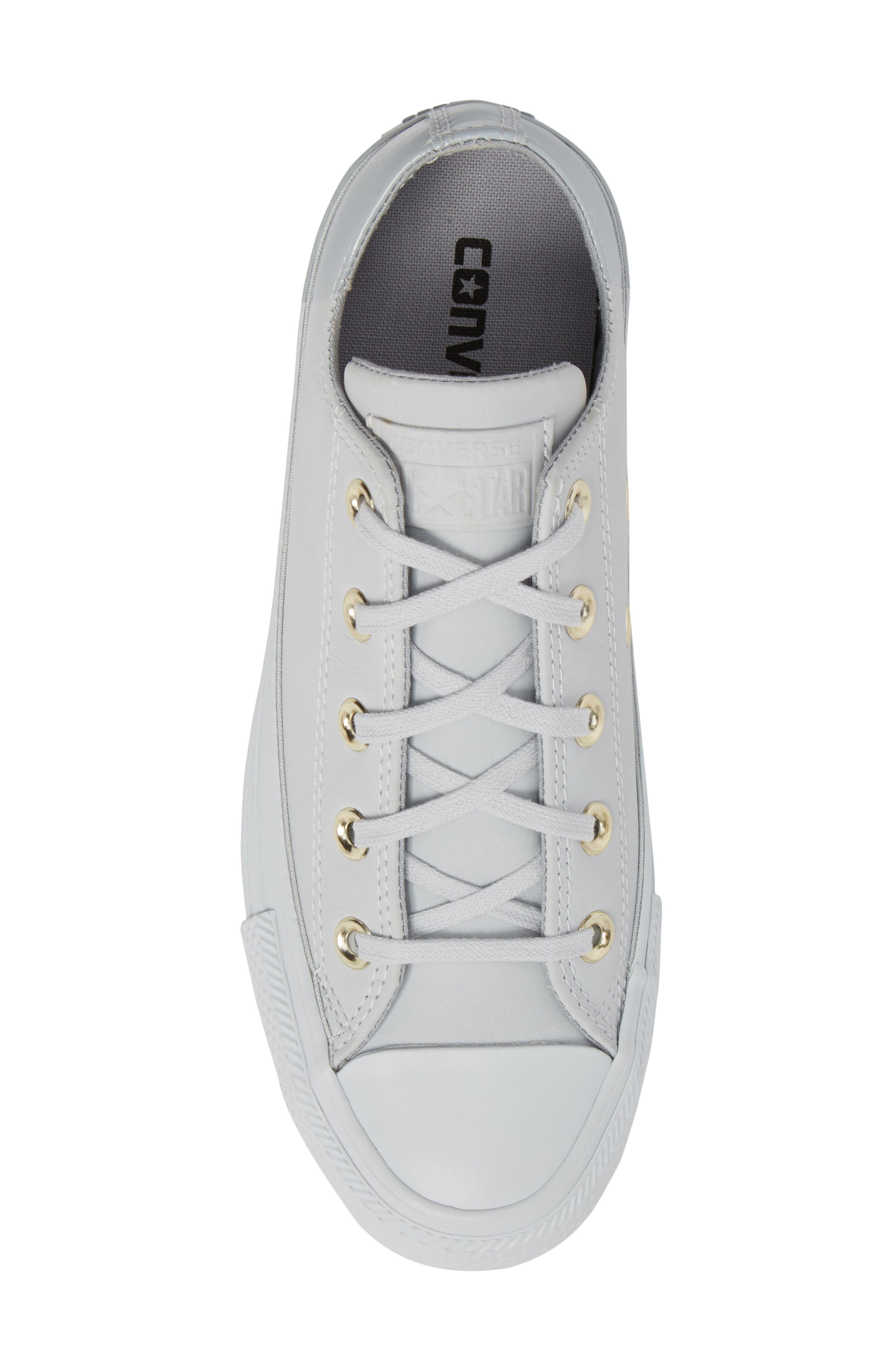 Chuck Taylor<sup>®</sup> All Star<sup>®</sup> Colorblock Ox Sneaker,                             Alternate thumbnail 5, color,                             082