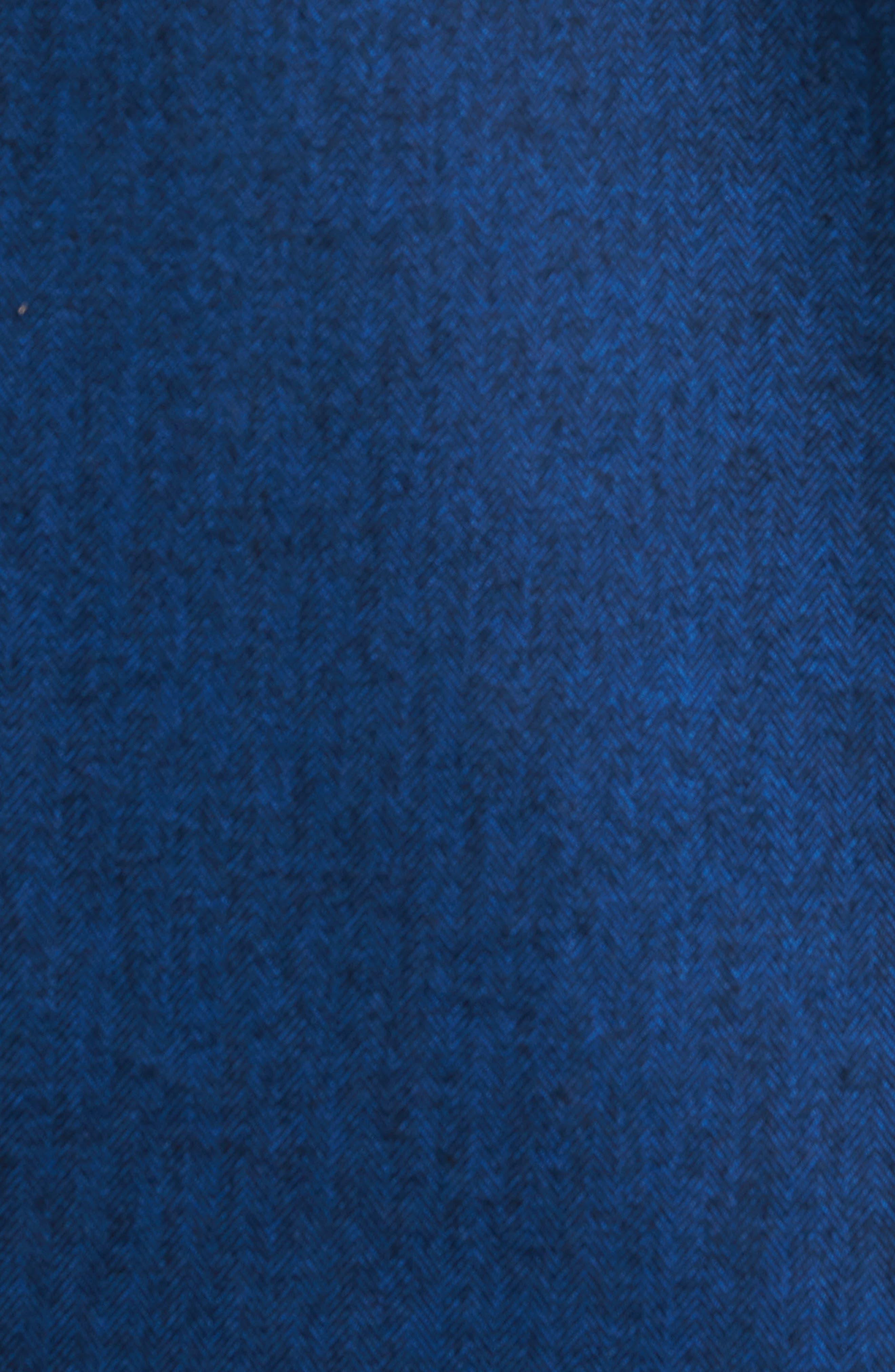 Grafton Slim Fit Herringbone Sport Shirt,                             Alternate thumbnail 5, color,                             410