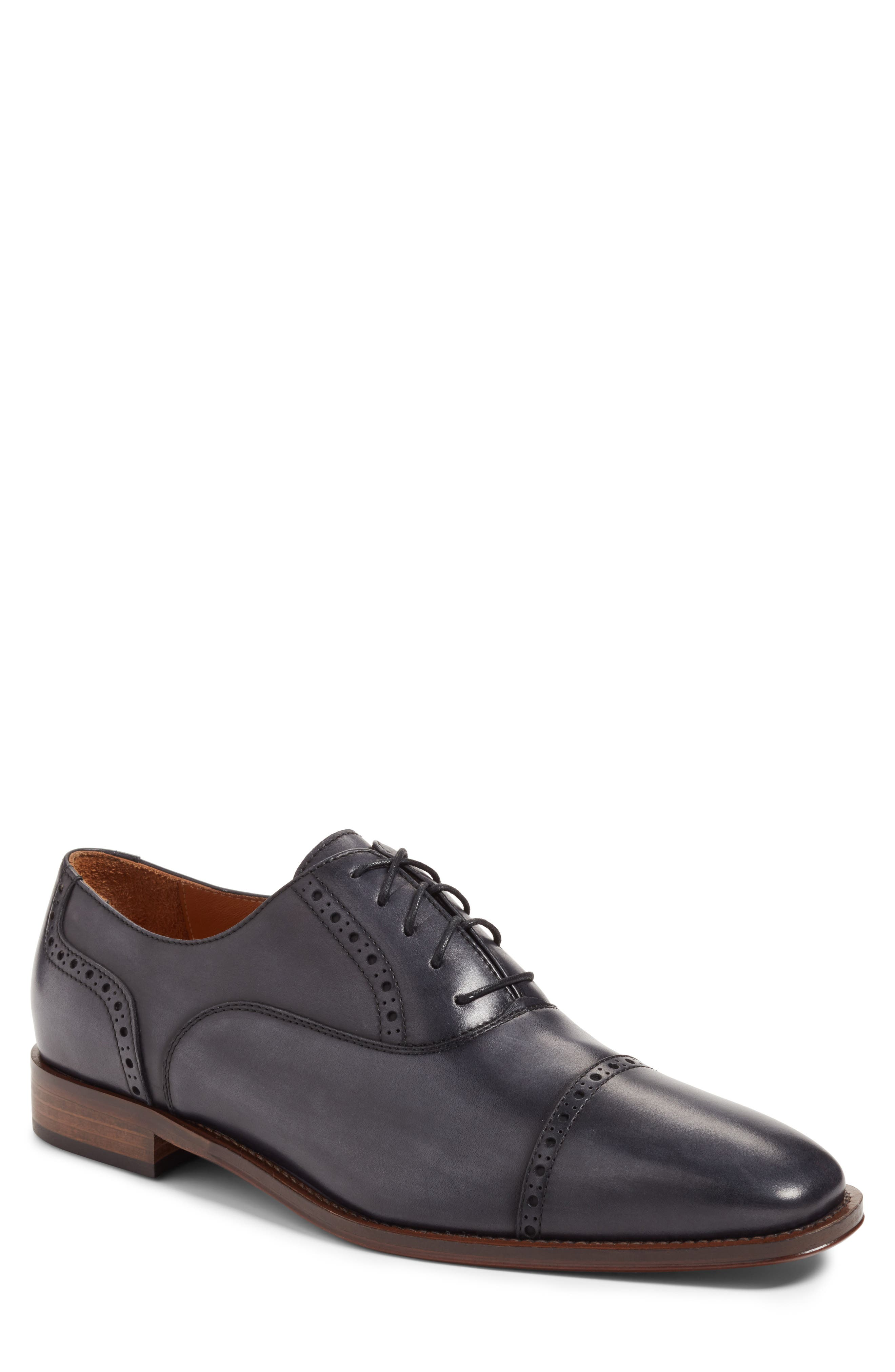 Vicente Cap toe Loafer,                         Main,                         color, 021