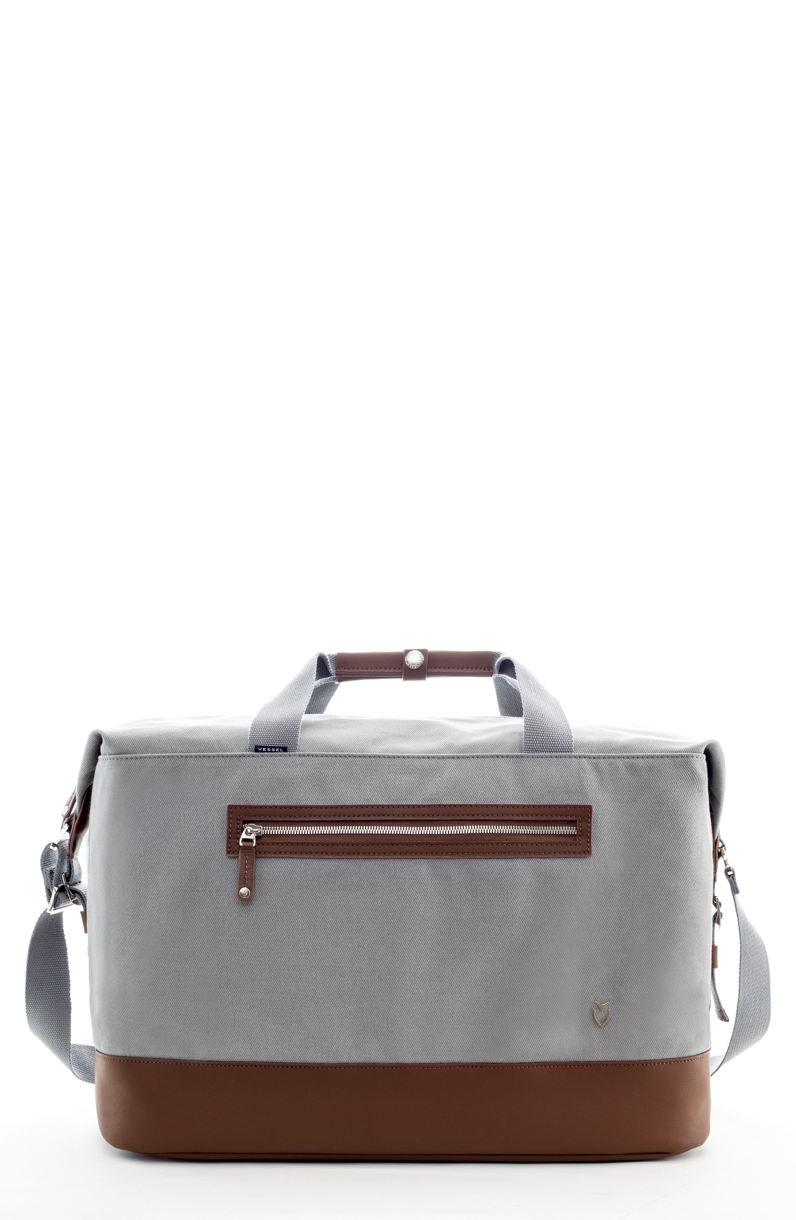 Refined Duffel Bag,                         Main,                         color, SLATE