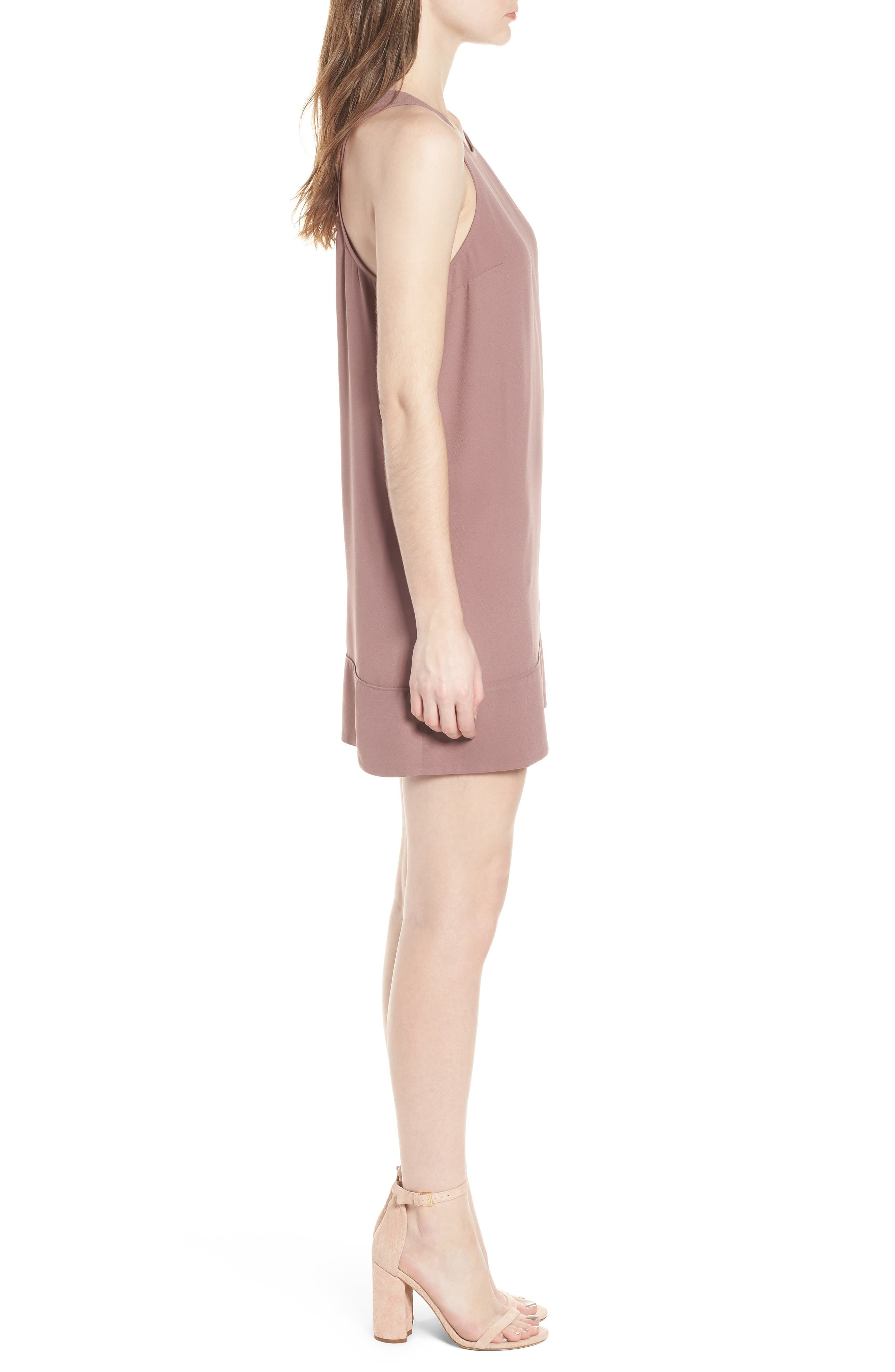 Racerback Shift Dress,                             Alternate thumbnail 96, color,