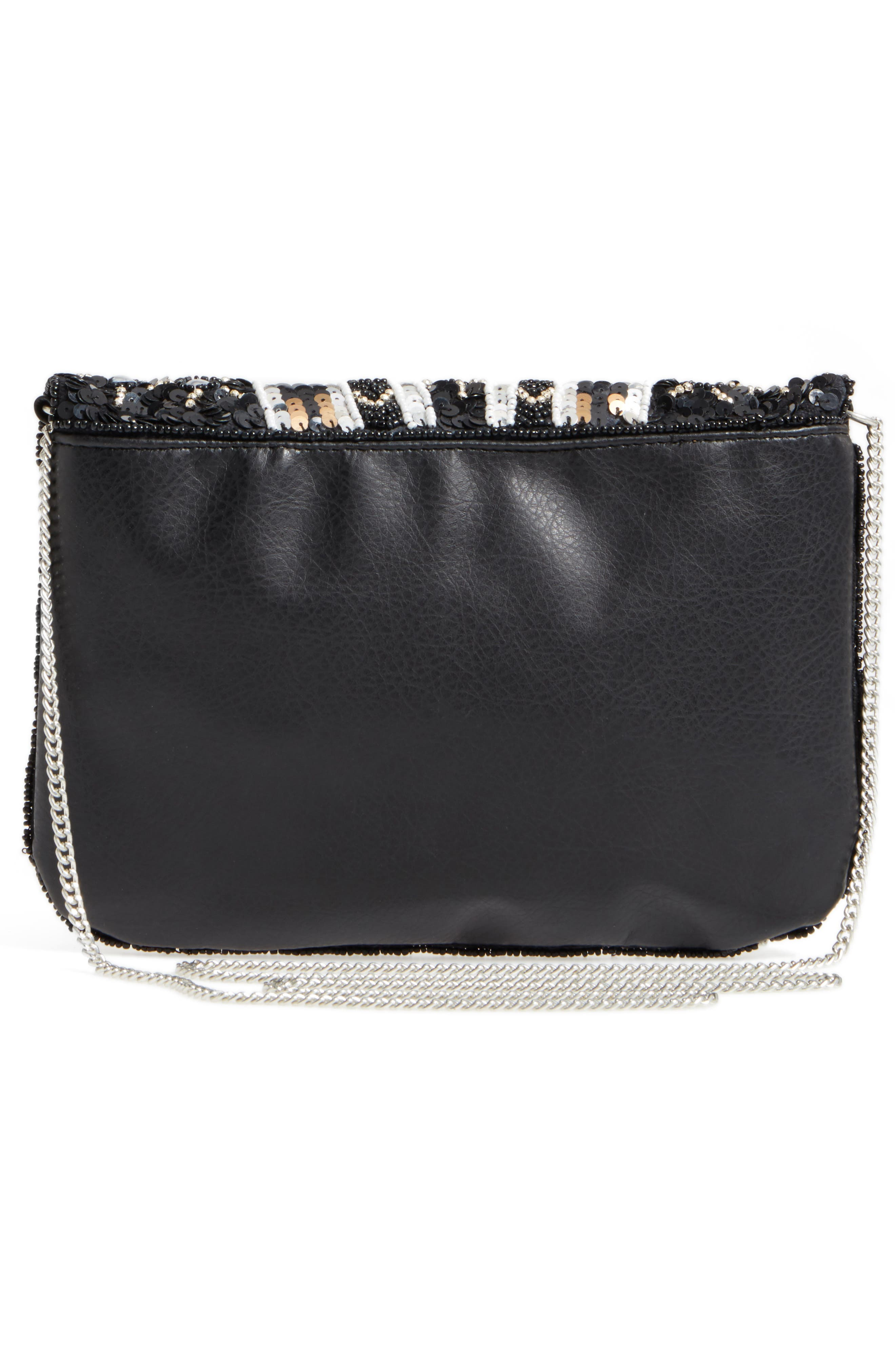 Beaded Clutch,                             Alternate thumbnail 3, color,                             001
