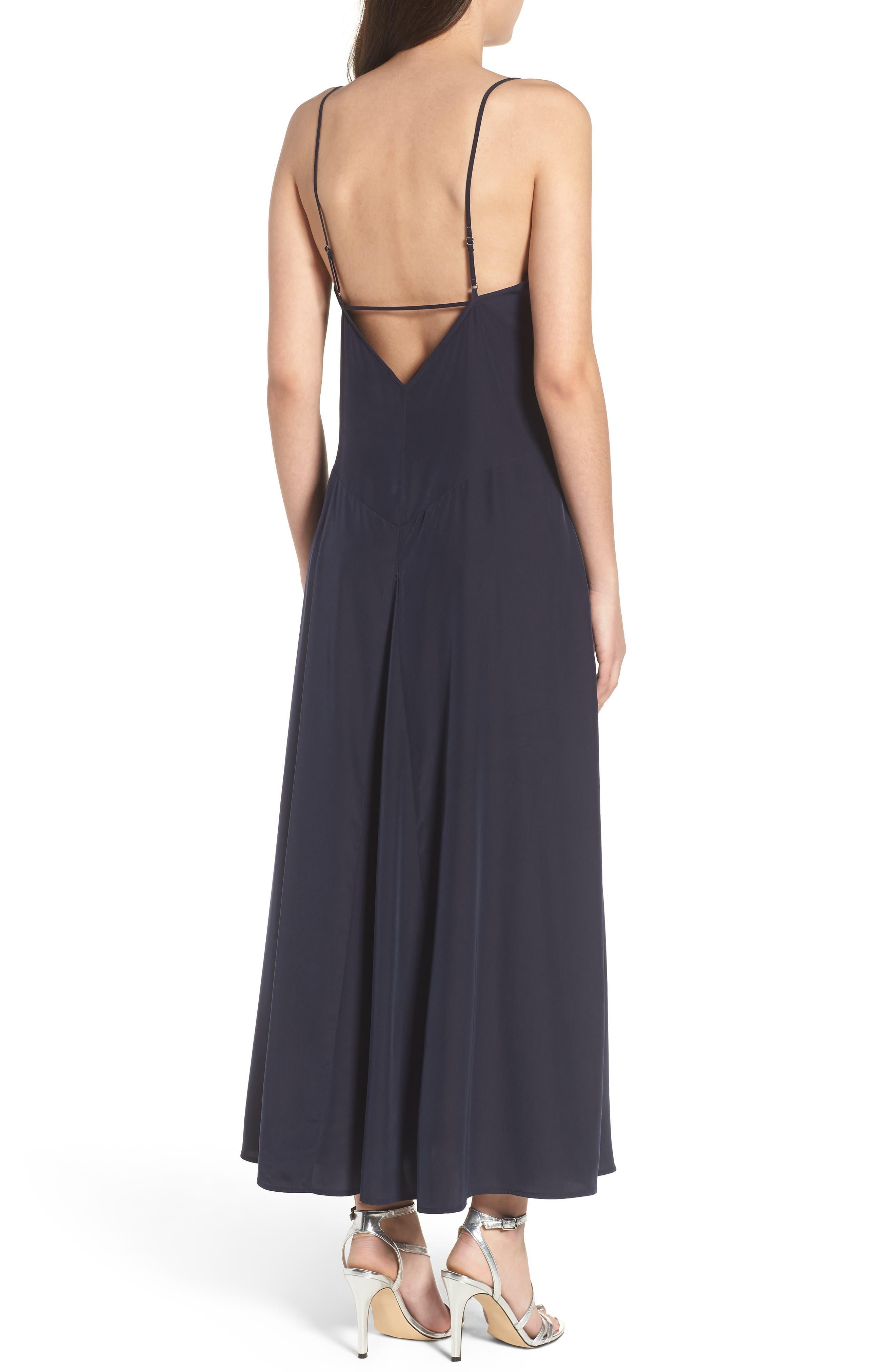 Maxi Slip Dress,                             Alternate thumbnail 2, color,                             410
