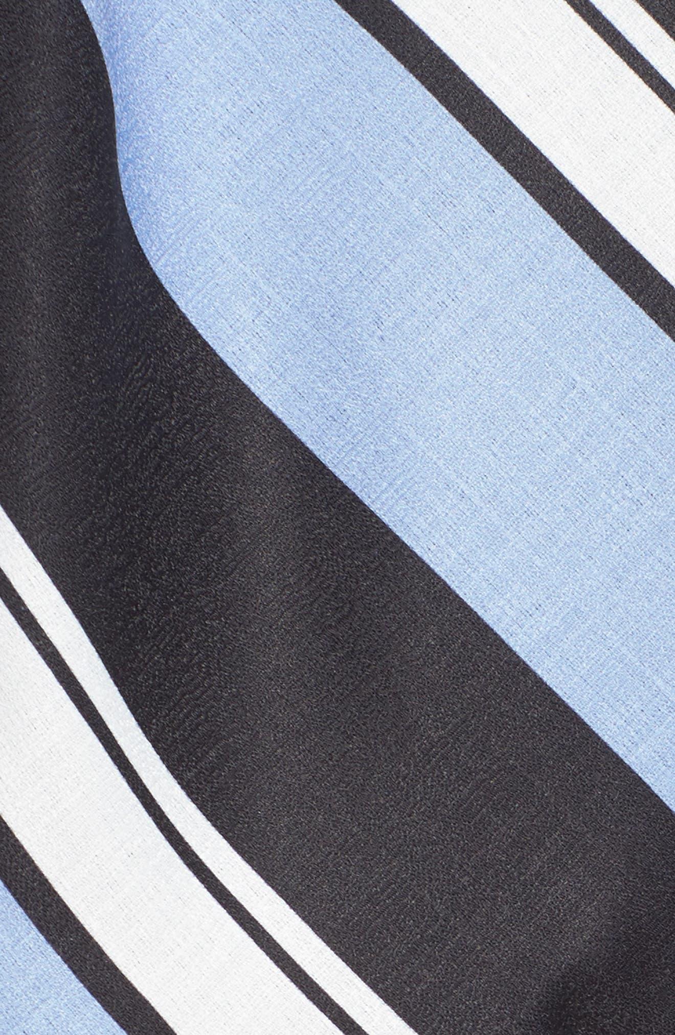 Stripe Crepe Jumpsuit,                             Alternate thumbnail 5, color,                             004