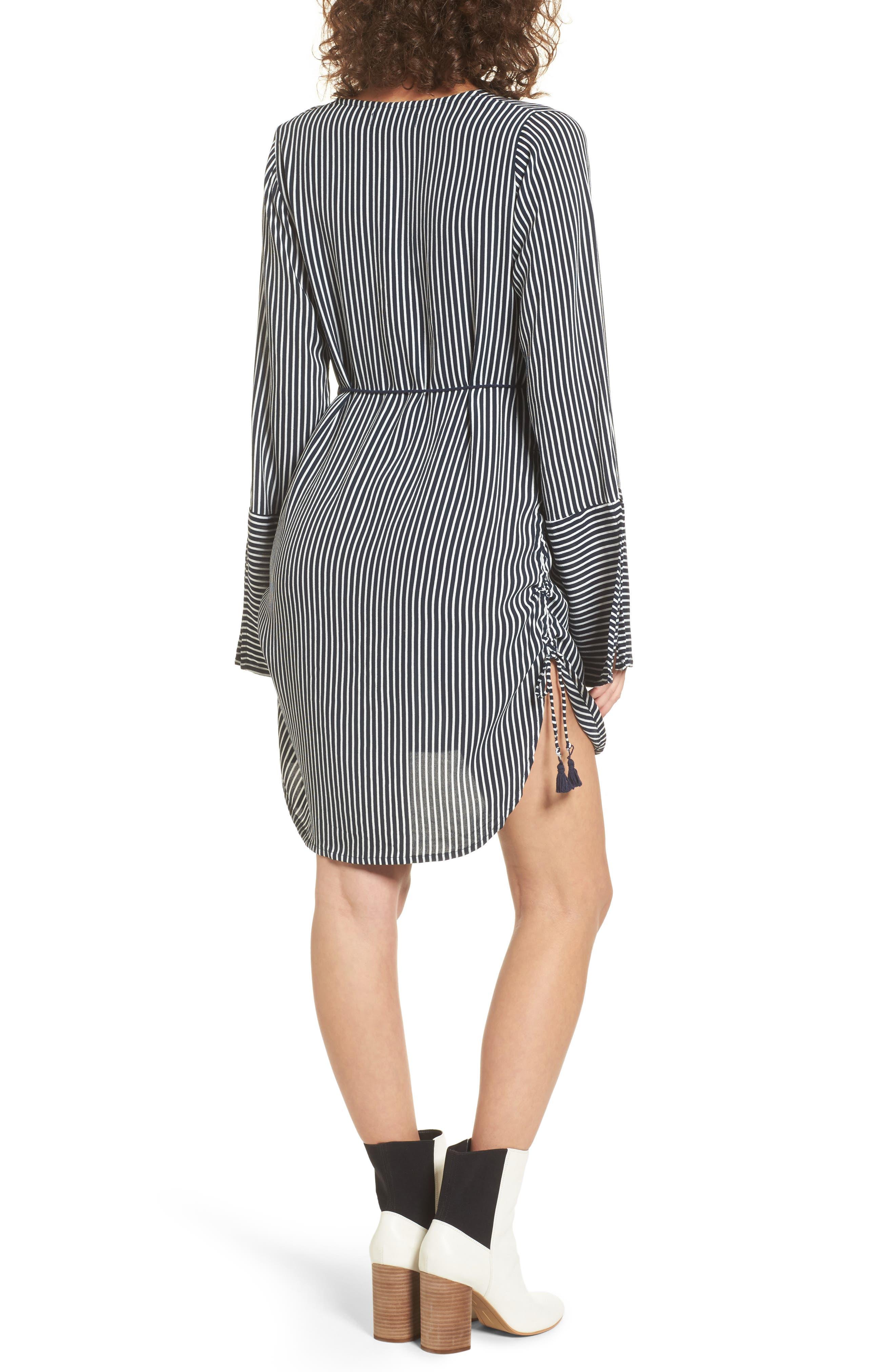 Neroli Stripe Dress,                             Alternate thumbnail 2, color,                             400