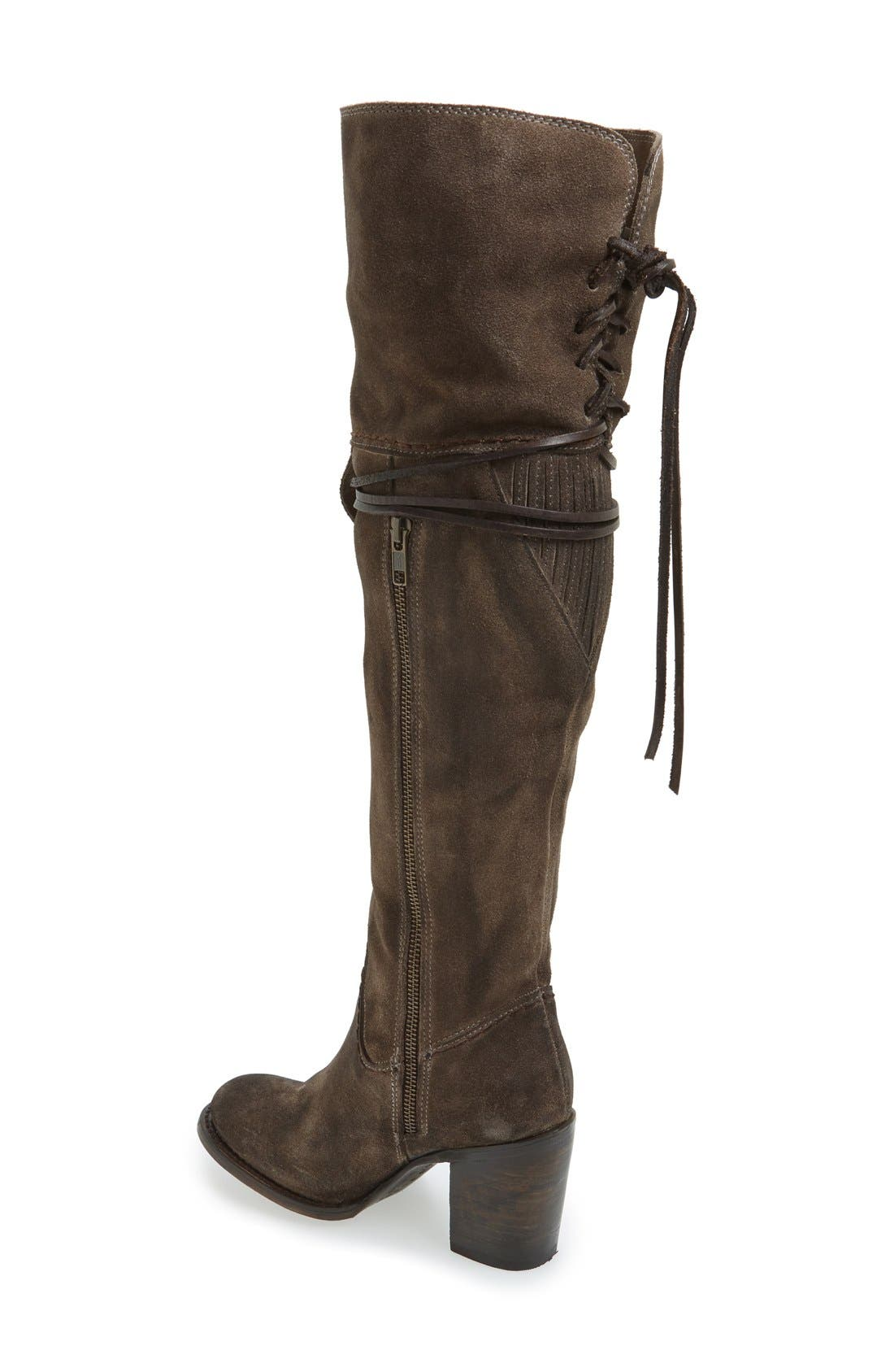 Brock Over the Knee Boot,                             Alternate thumbnail 2, color,                             020