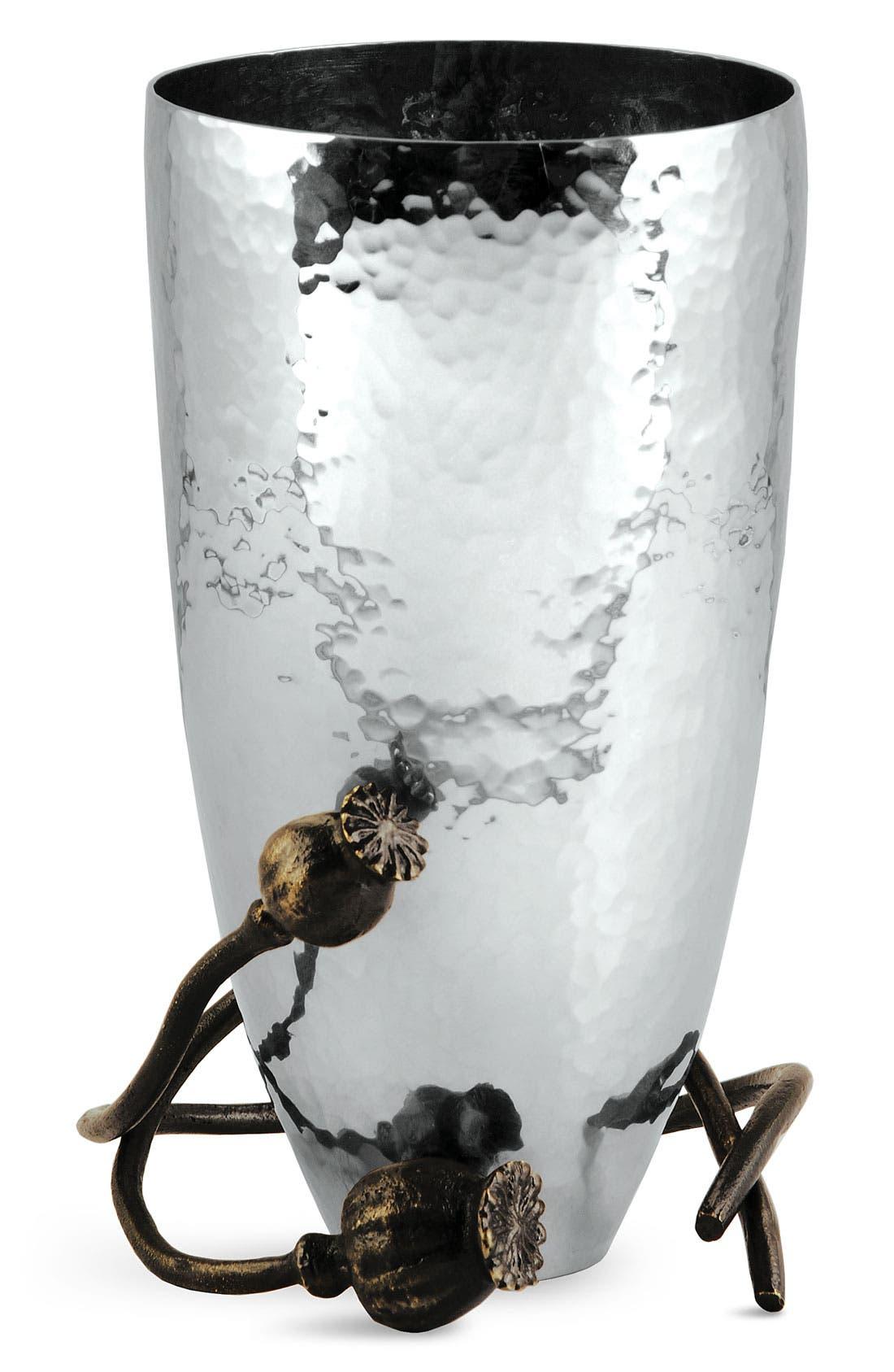 'Poppy' Small Vase,                             Main thumbnail 1, color,                             000