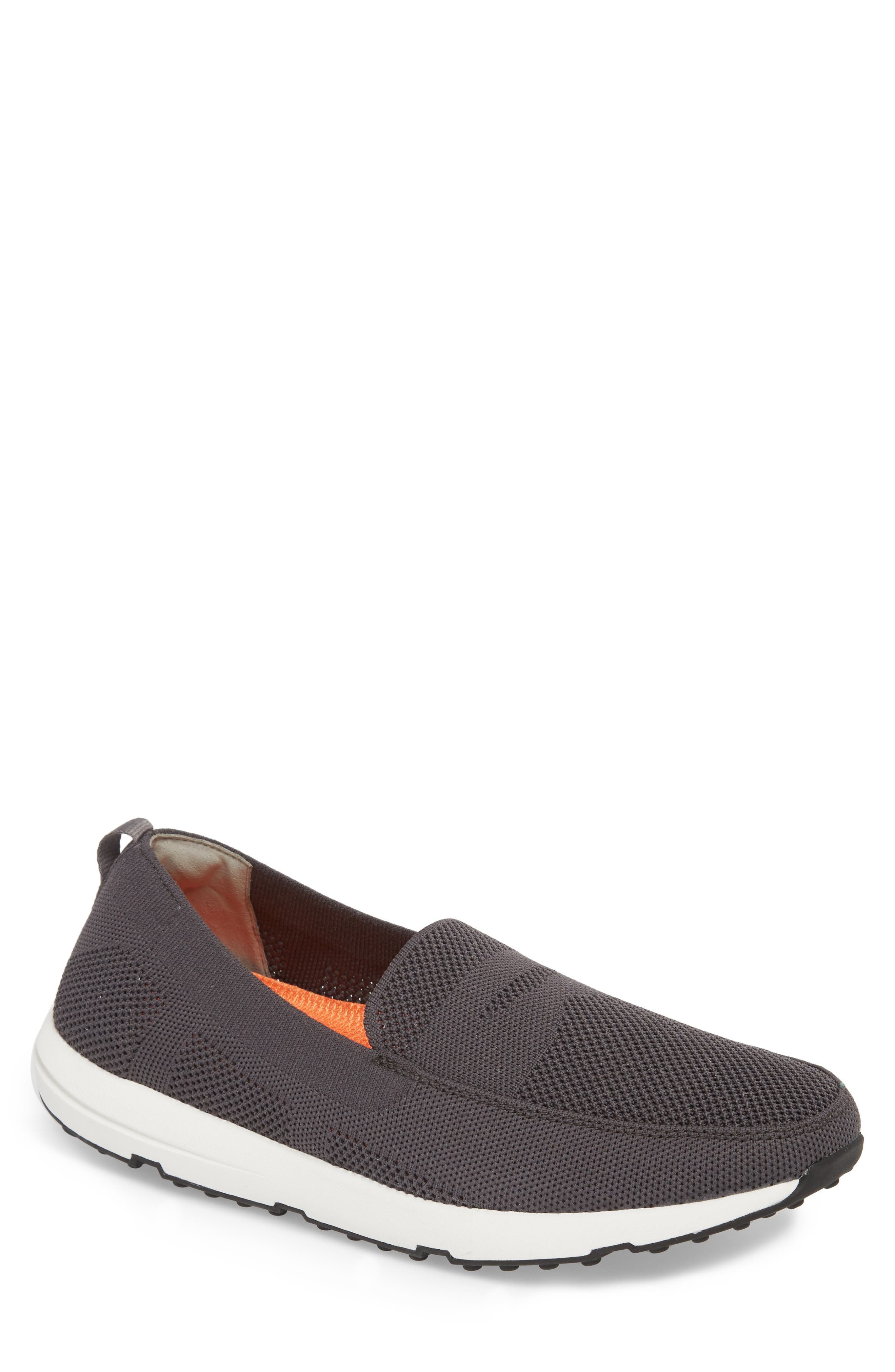 SWIMS Breeze Leap Knit Penny Slip-On, Main, color, 020