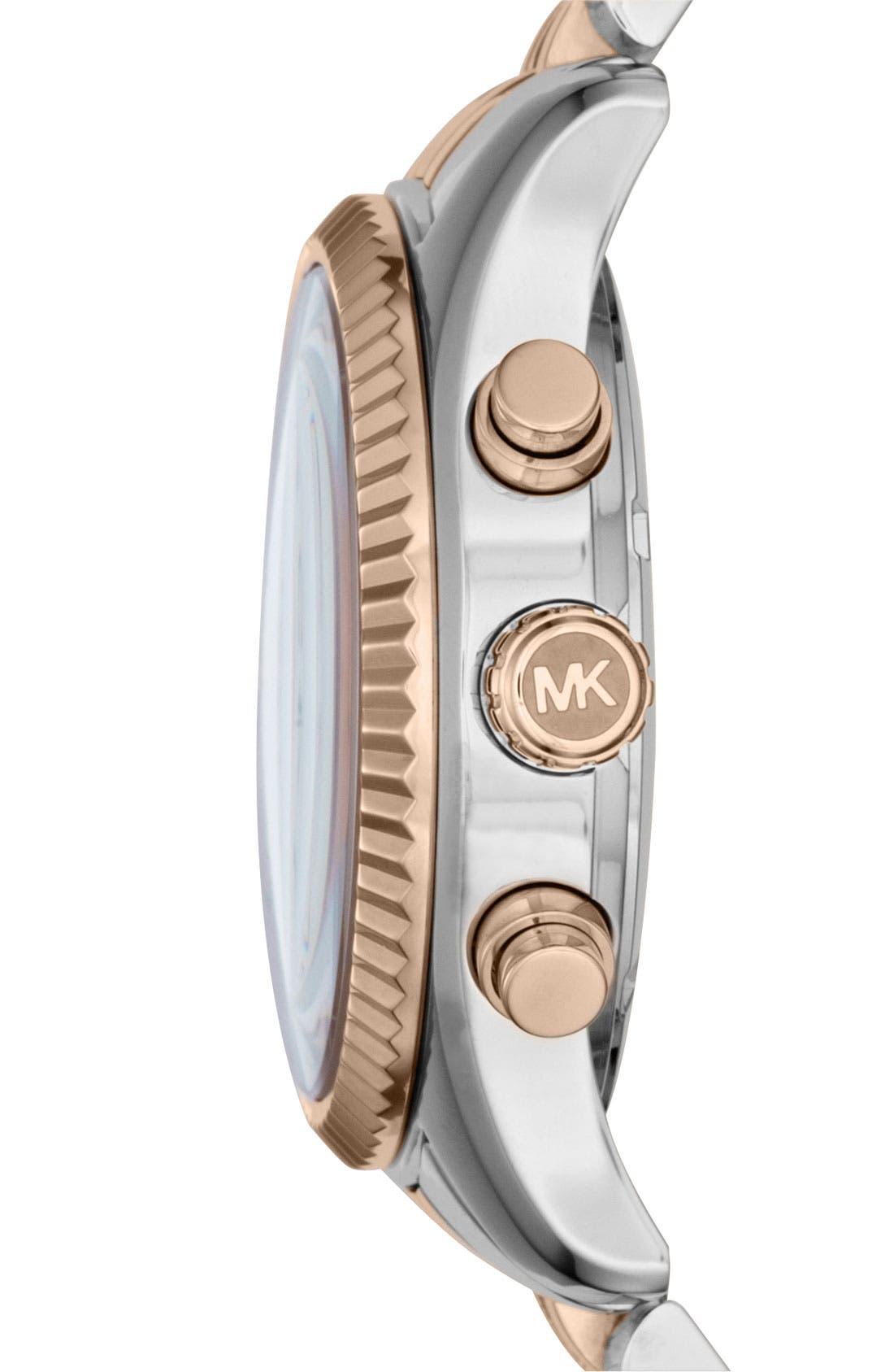'Lexington' Chronograph Bracelet Watch, 38mm,                             Alternate thumbnail 24, color,