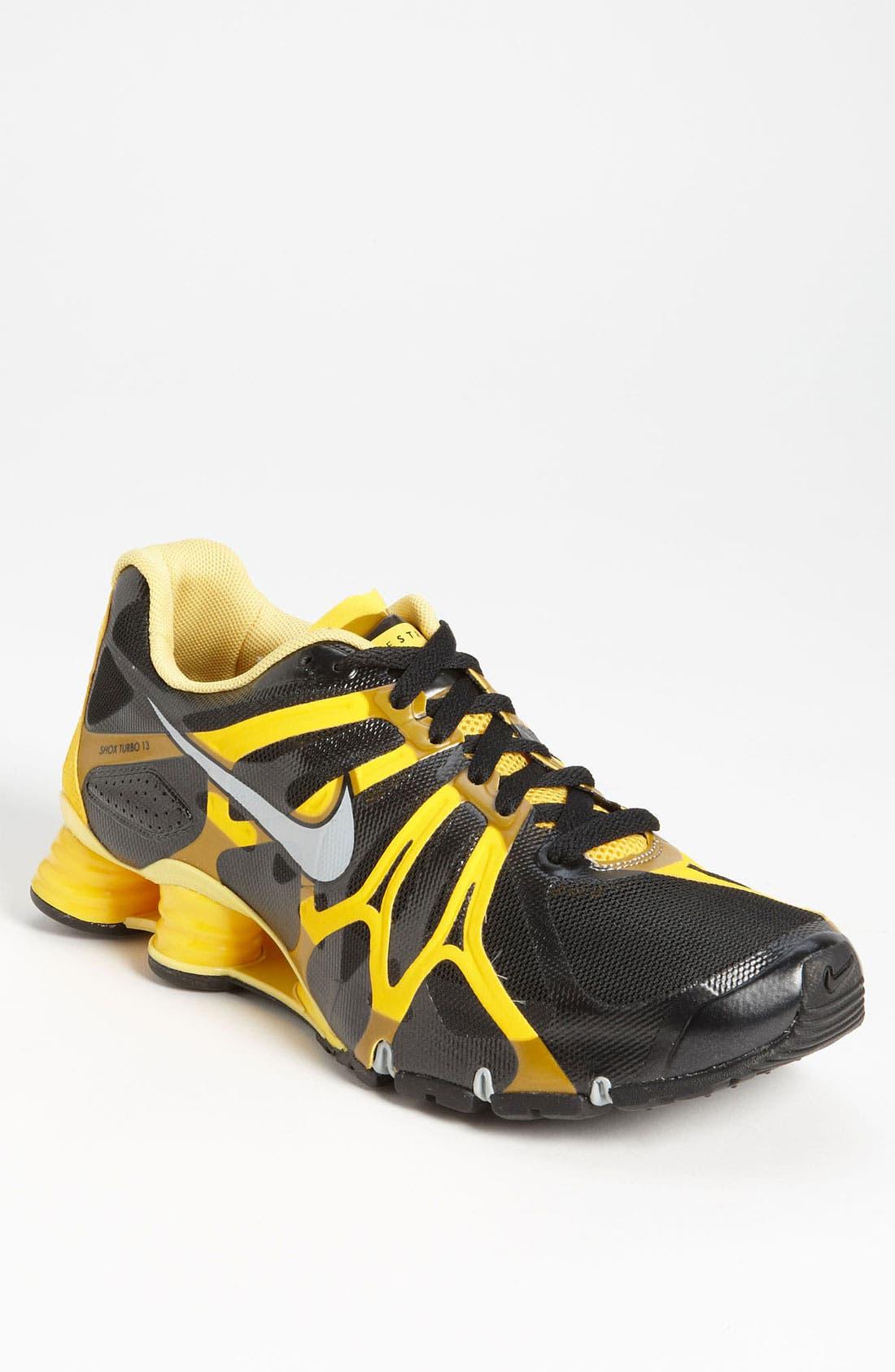 'LIVESTRONG Shox Turbo+ 13' Running Shoe, Main, color, 001