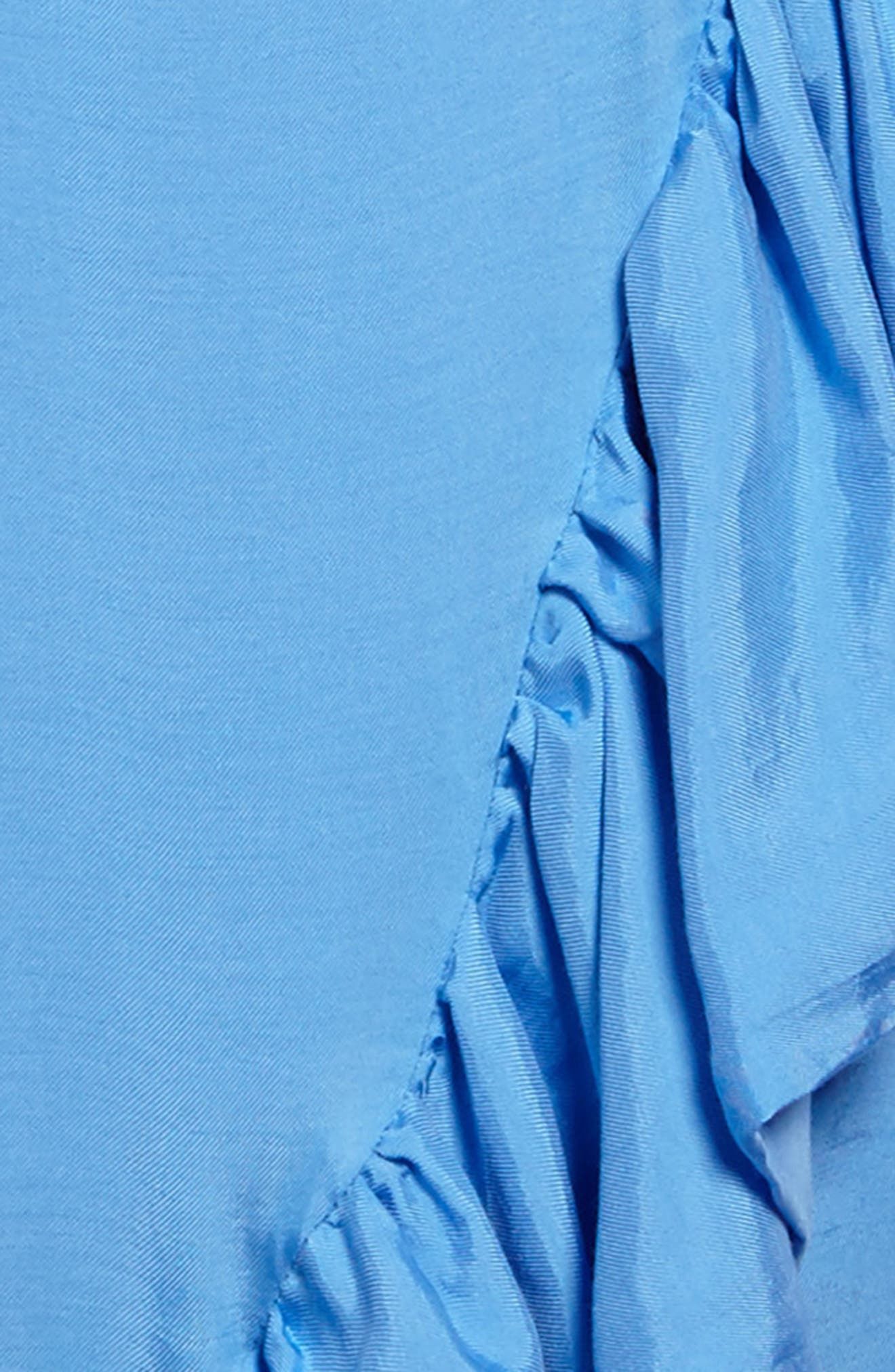 Lucia Asymmetrical Ruffle Dress,                             Alternate thumbnail 3, color,                             401