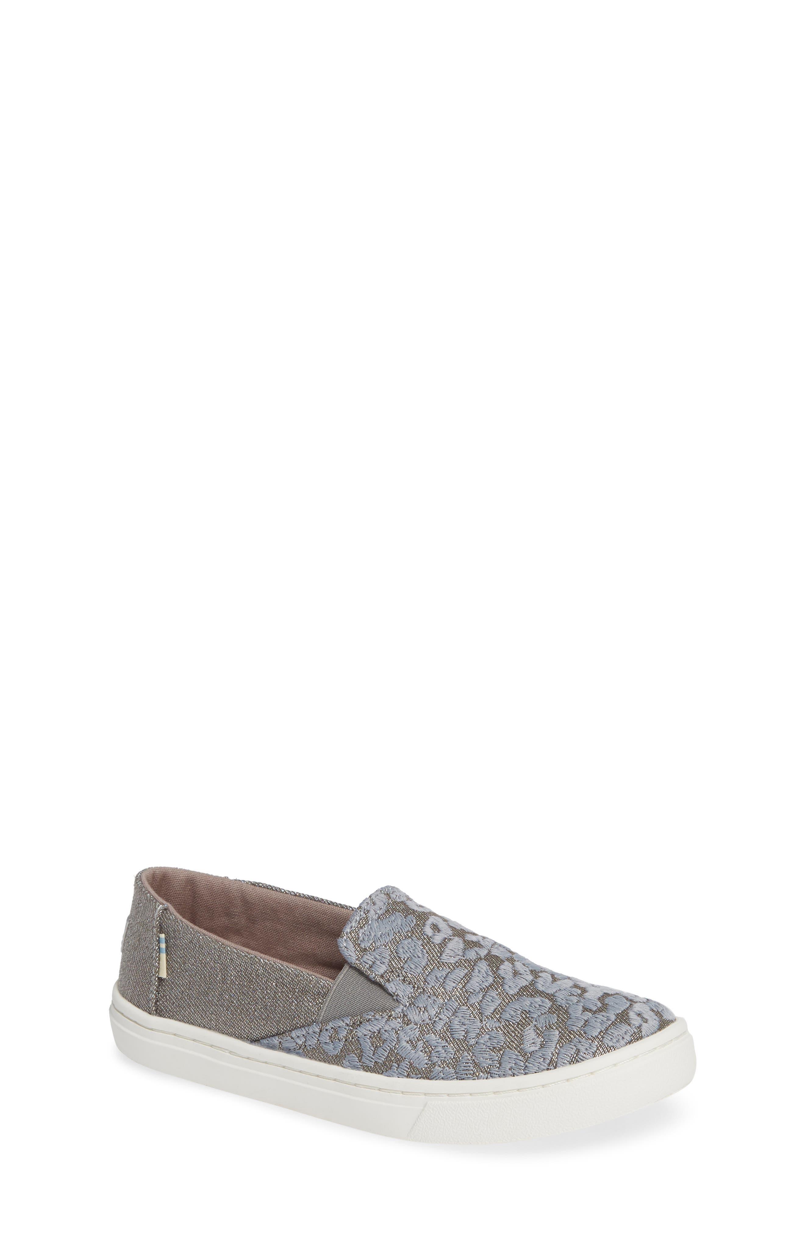 Luca Slip-On Sneaker,                         Main,                         color, NEUTRAL GRAY CHEETAH/ TWILL