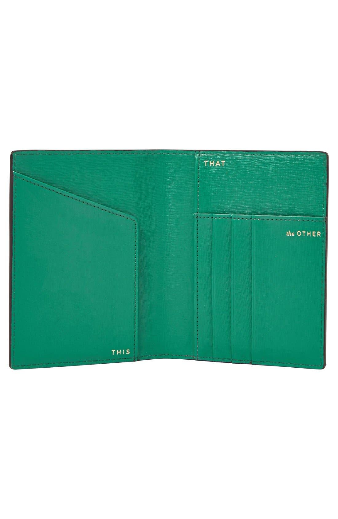 Passport Case,                             Alternate thumbnail 2, color,                             001