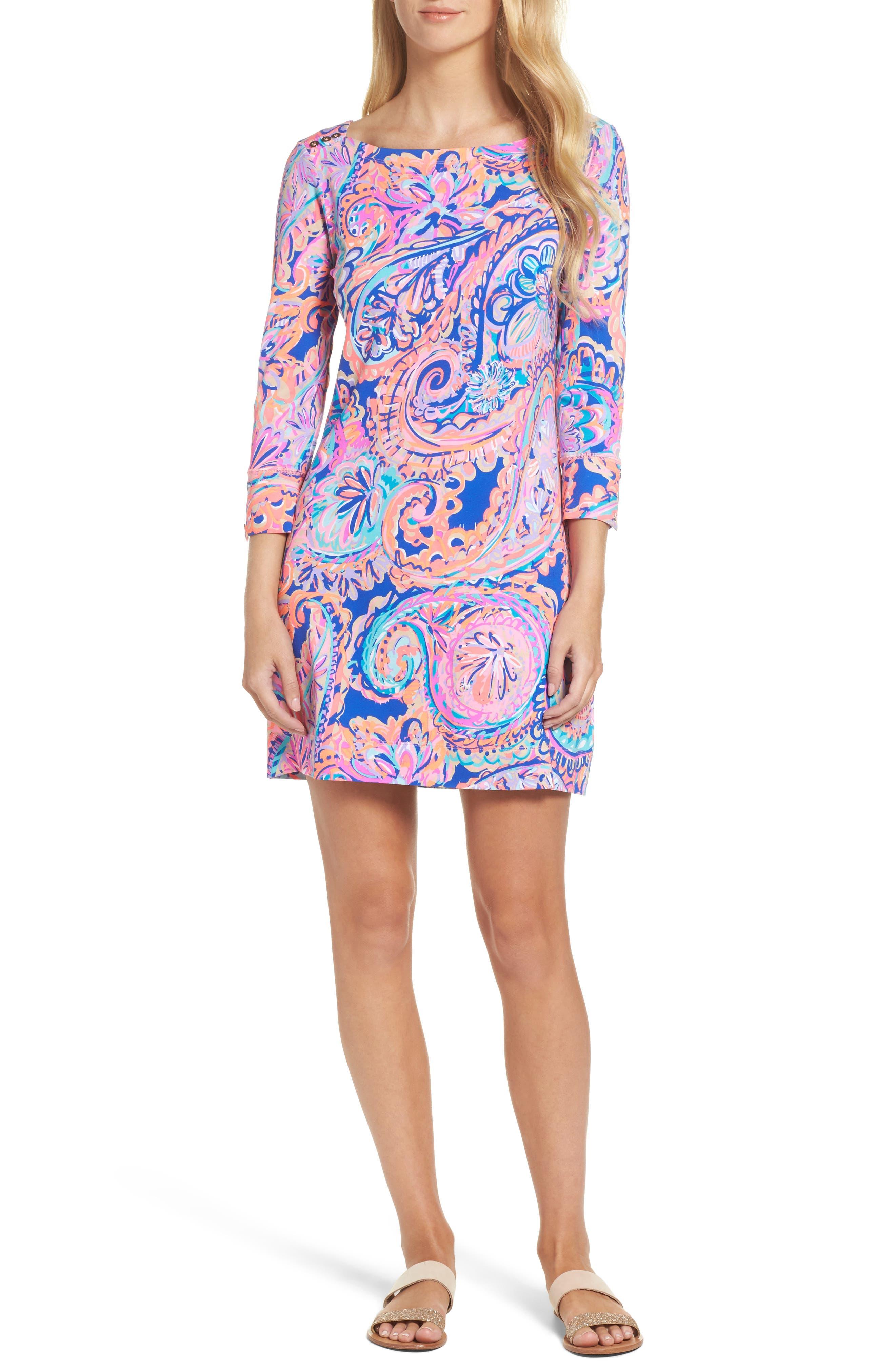 Sophie UPF 50+ Dress,                             Alternate thumbnail 5, color,                             454
