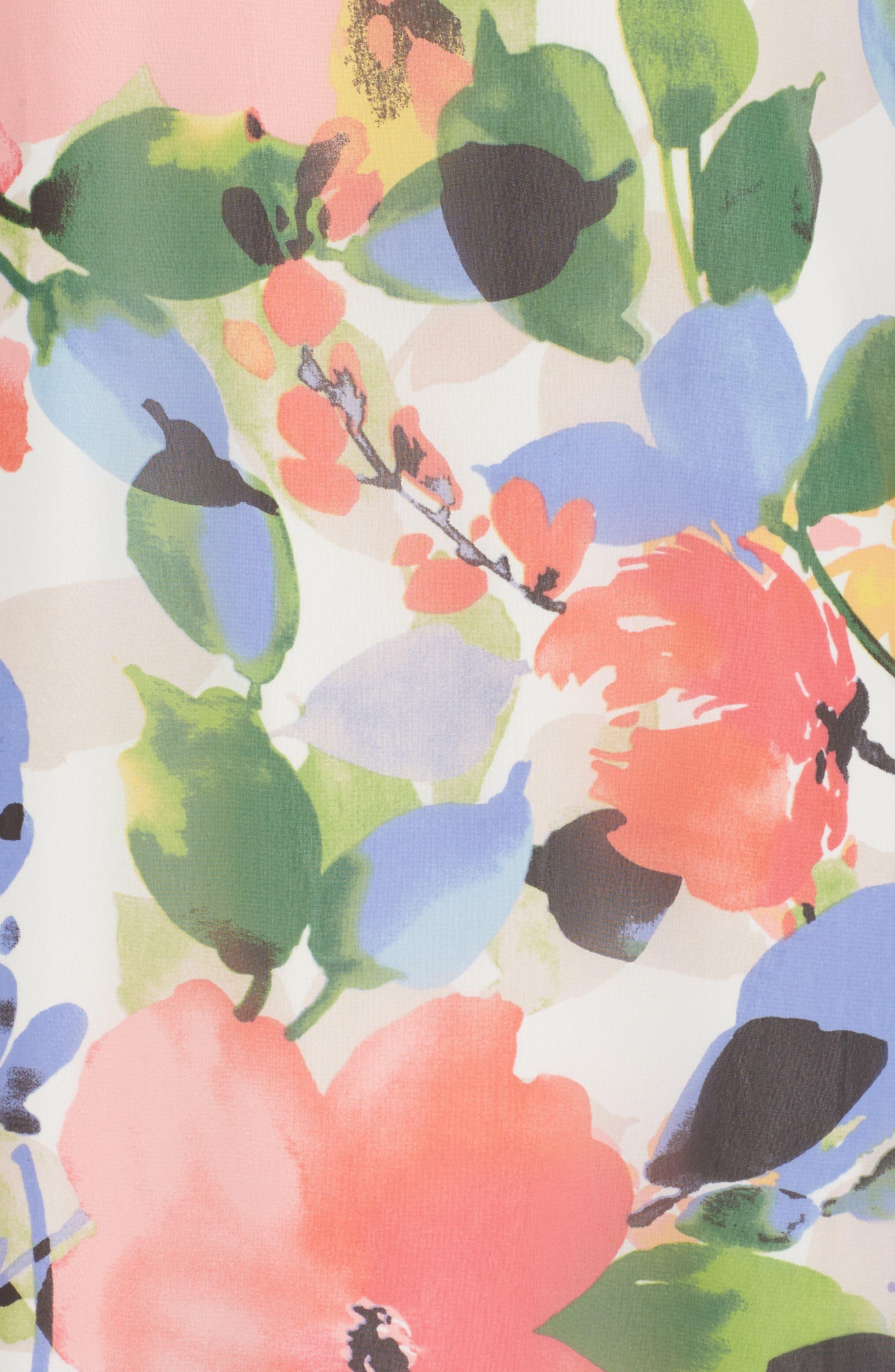Stretch Sheath Dress,                             Alternate thumbnail 5, color,                             001