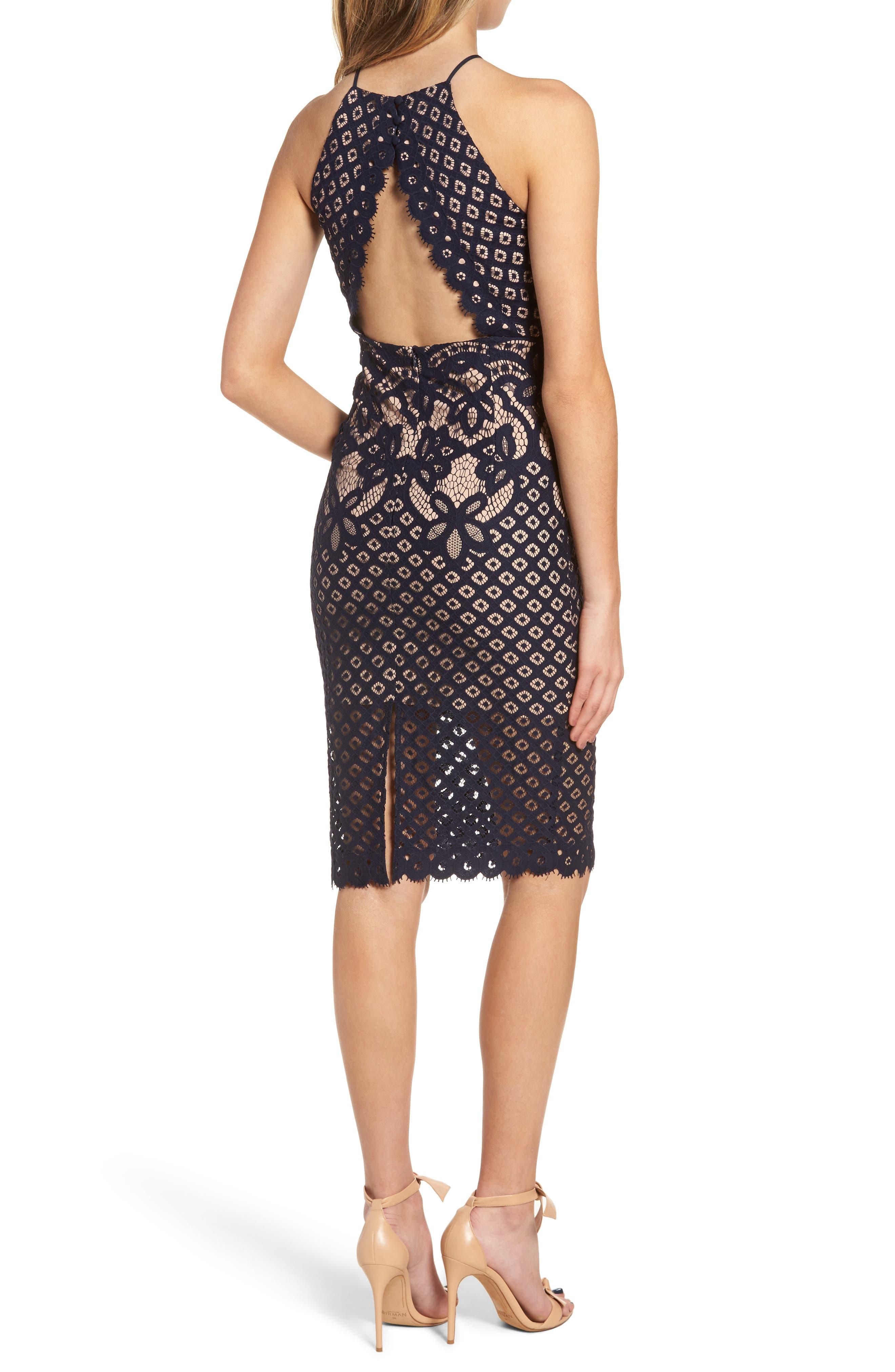 Mila Lace Dress,                             Alternate thumbnail 4, color,