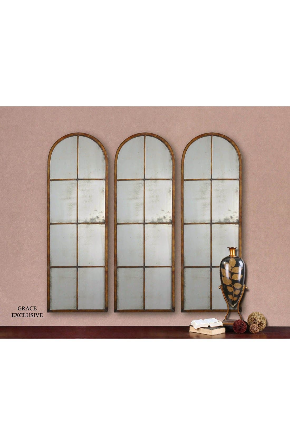 'Amiel' Arched Mirror,                             Alternate thumbnail 2, color,