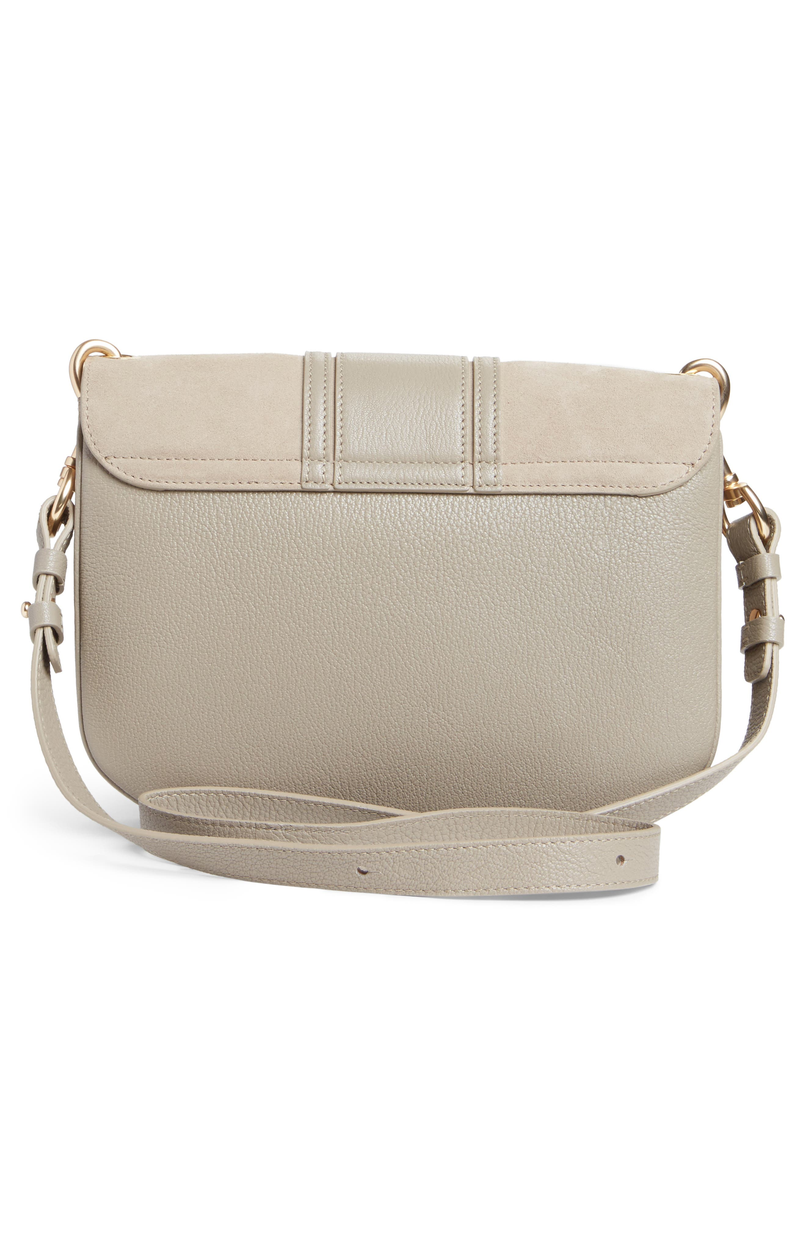Medium Hana Leather Satchel,                             Alternate thumbnail 3, color,                             032