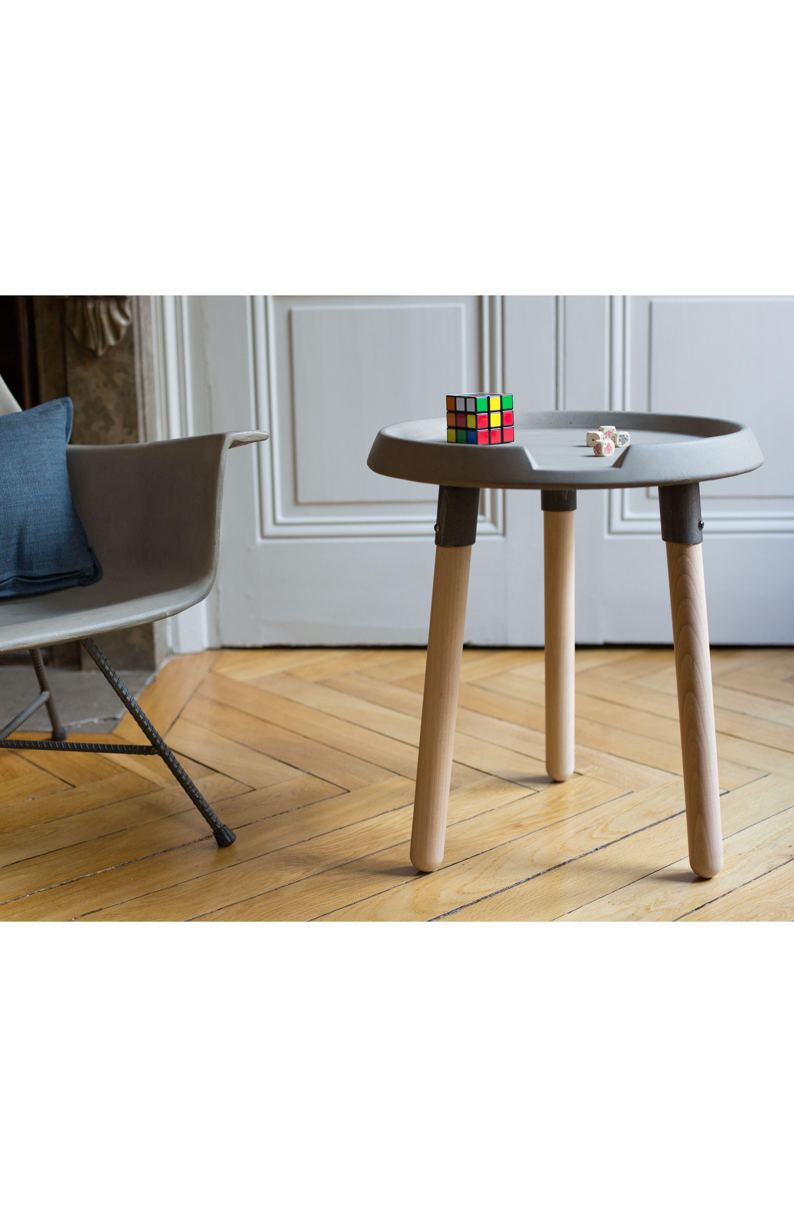 Lyon Béton Mix Side Table,                             Alternate thumbnail 4, color,