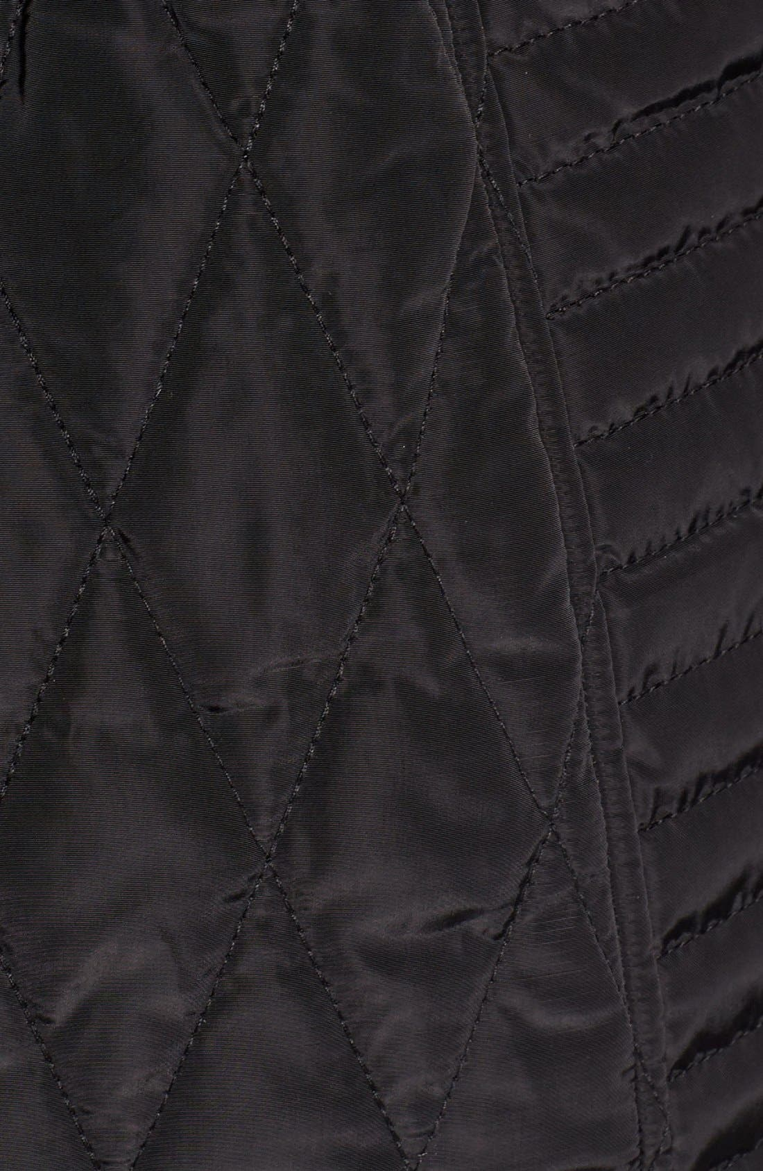 Quilted Anorak,                             Alternate thumbnail 5, color,                             001