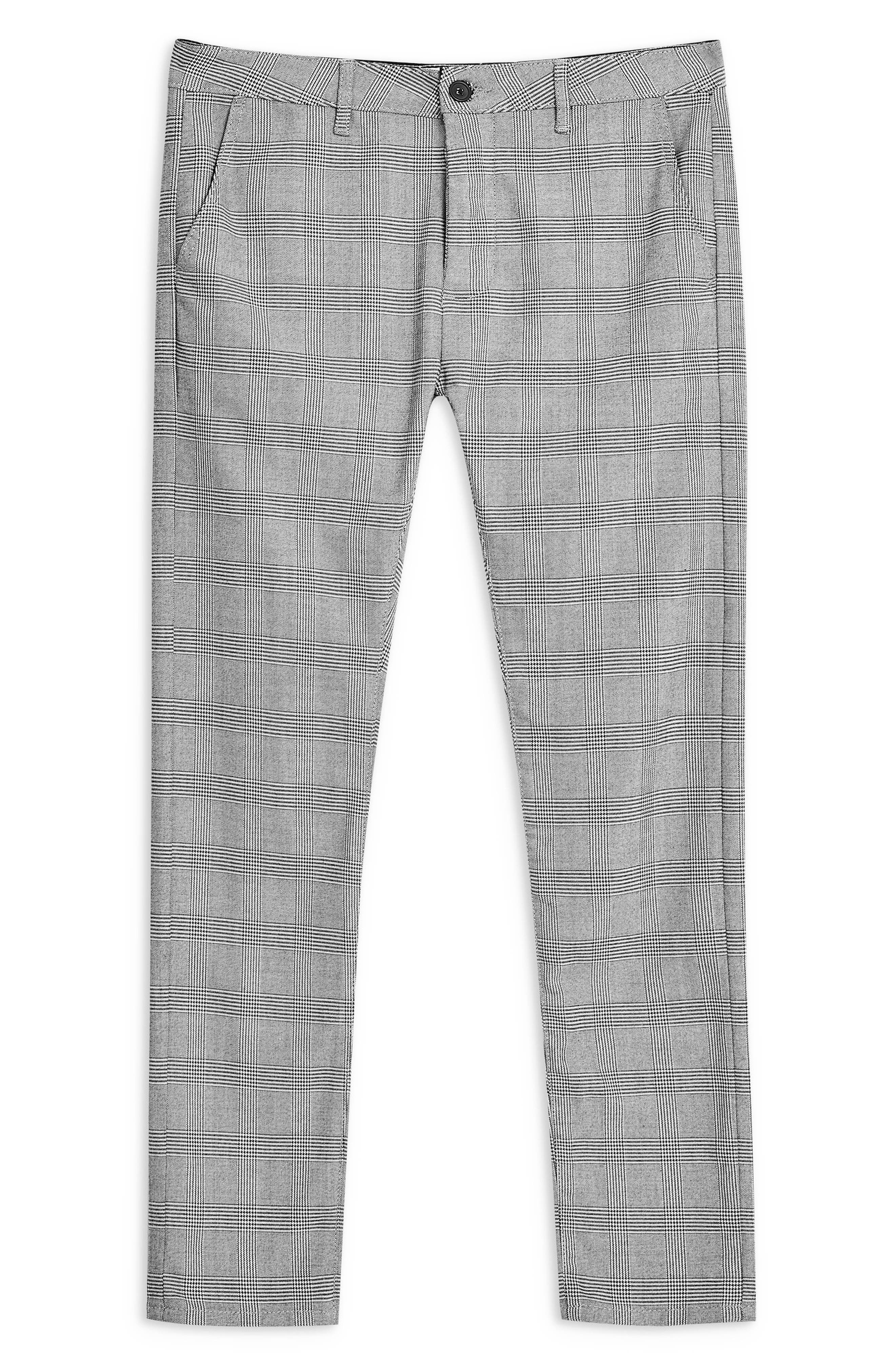 Stretch Skinny Fit Chinos,                             Alternate thumbnail 3, color,                             GREY MULTI