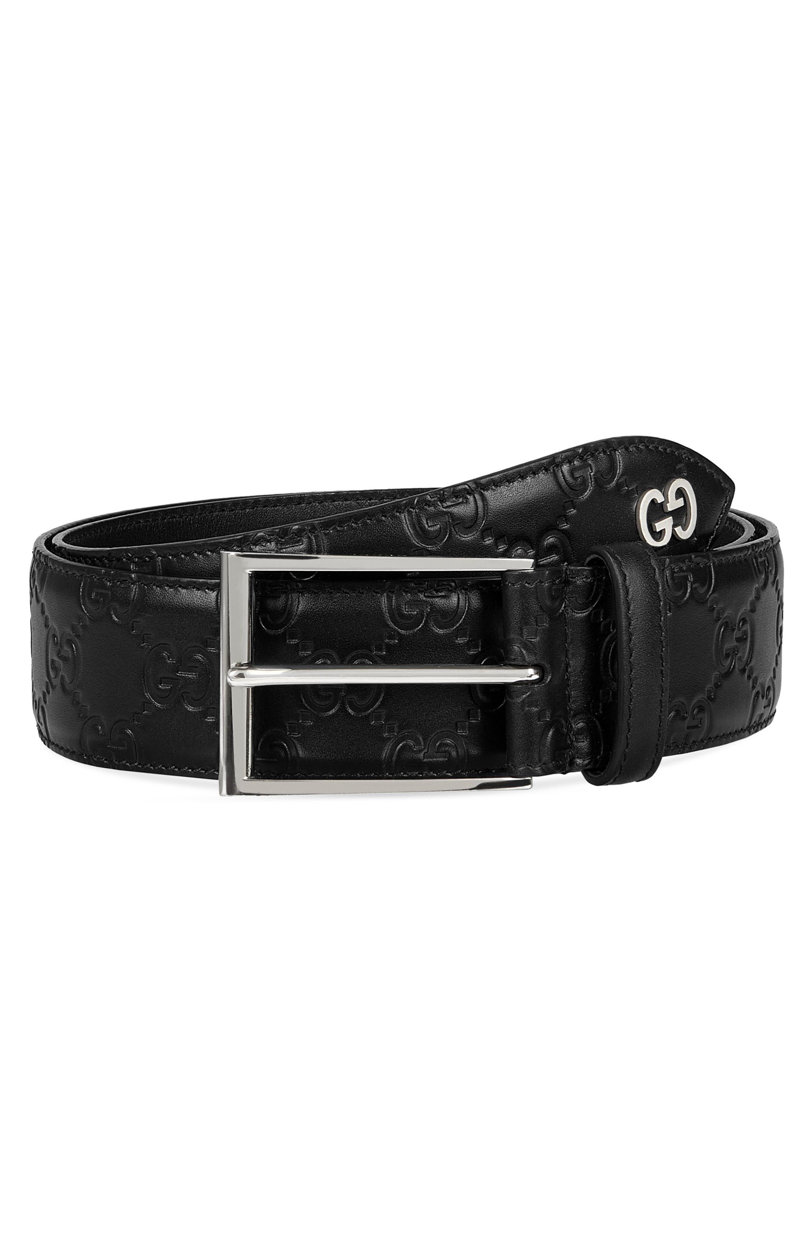 Leather Belt,                         Main,                         color,