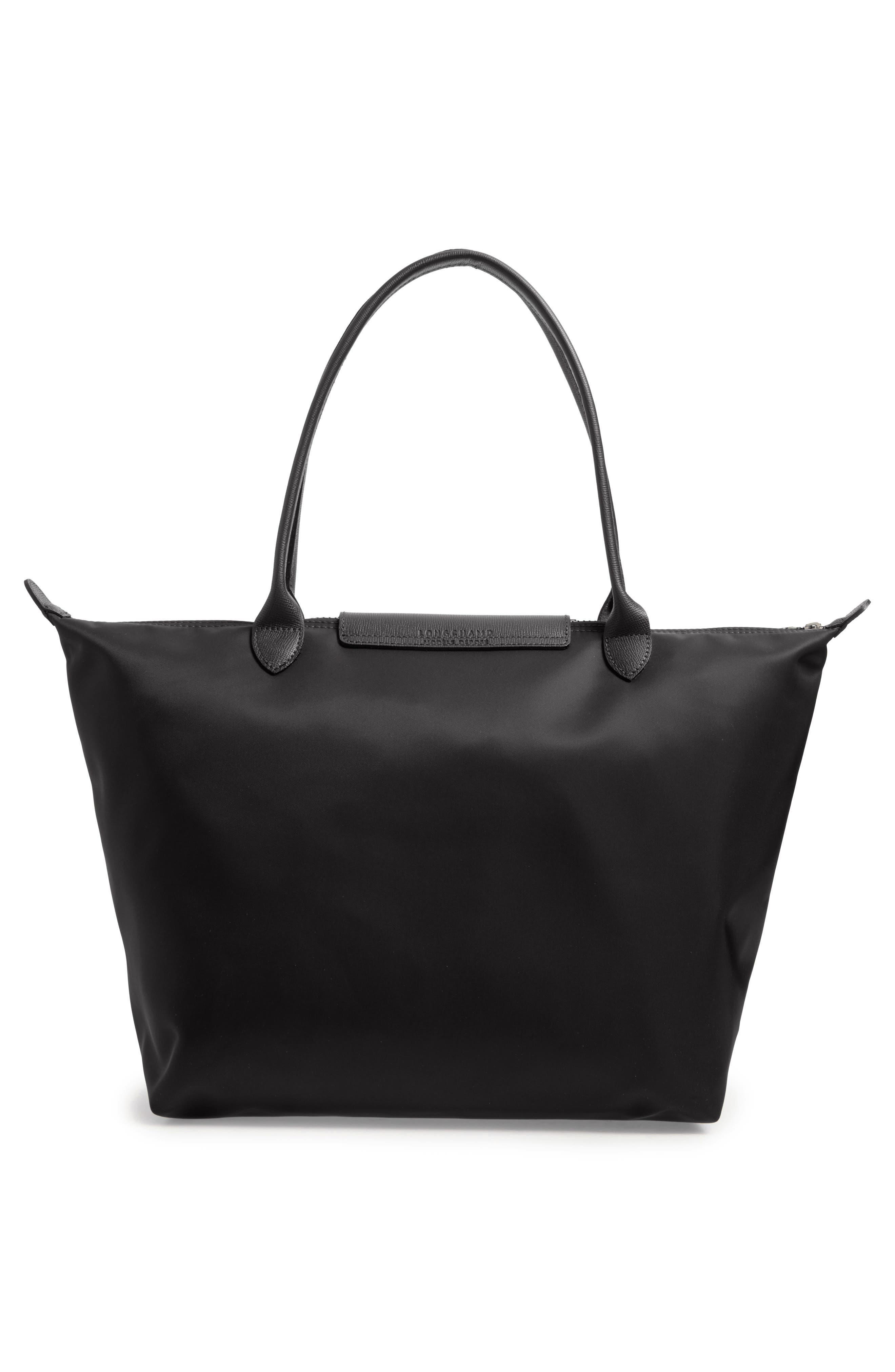 'Large Le Pliage Neo' Nylon Tote,                             Alternate thumbnail 2, color,                             BLACK
