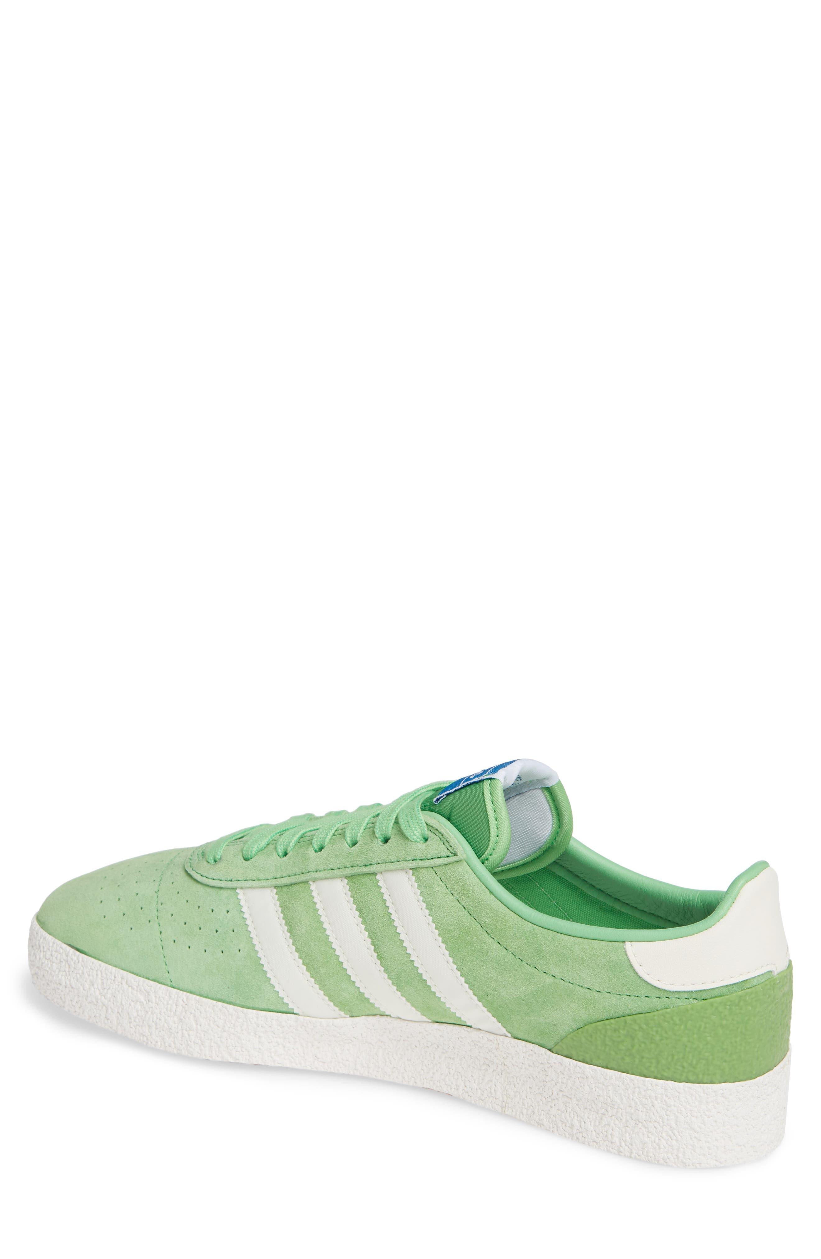 München Super Spezial Sneaker,                             Alternate thumbnail 2, color,                             INTENSE GREEN/ OFF WHITE