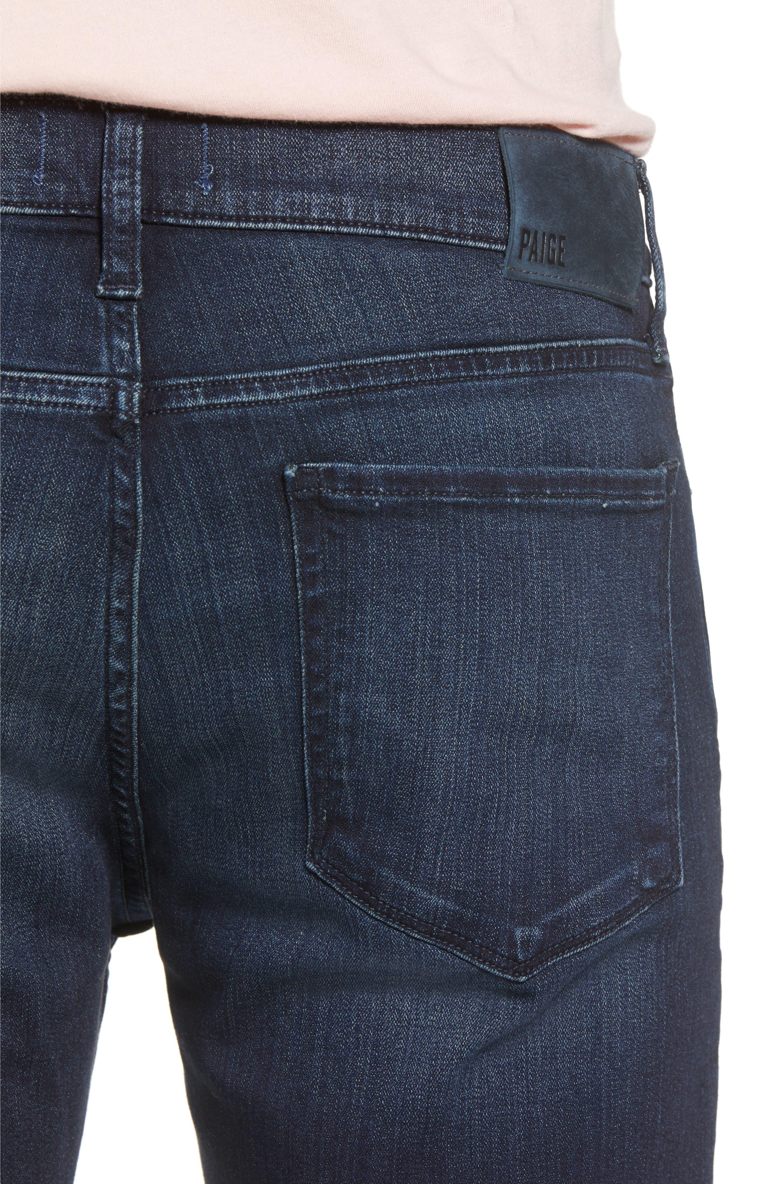 Lennox Slim Fit Jeans,                             Alternate thumbnail 4, color,                             DORSET