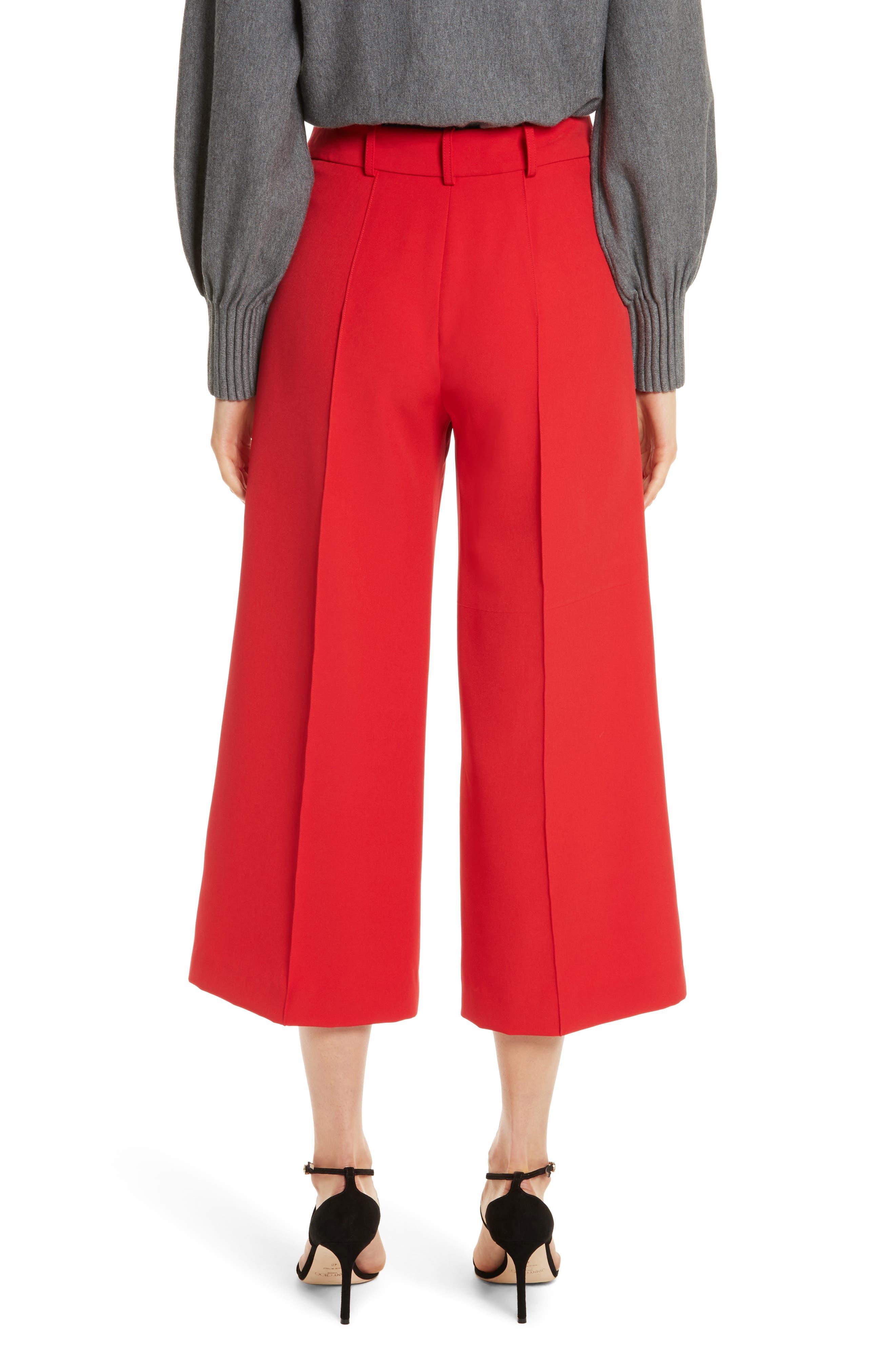 Hayden Italian Cady Crop Pants,                             Alternate thumbnail 2, color,                             649
