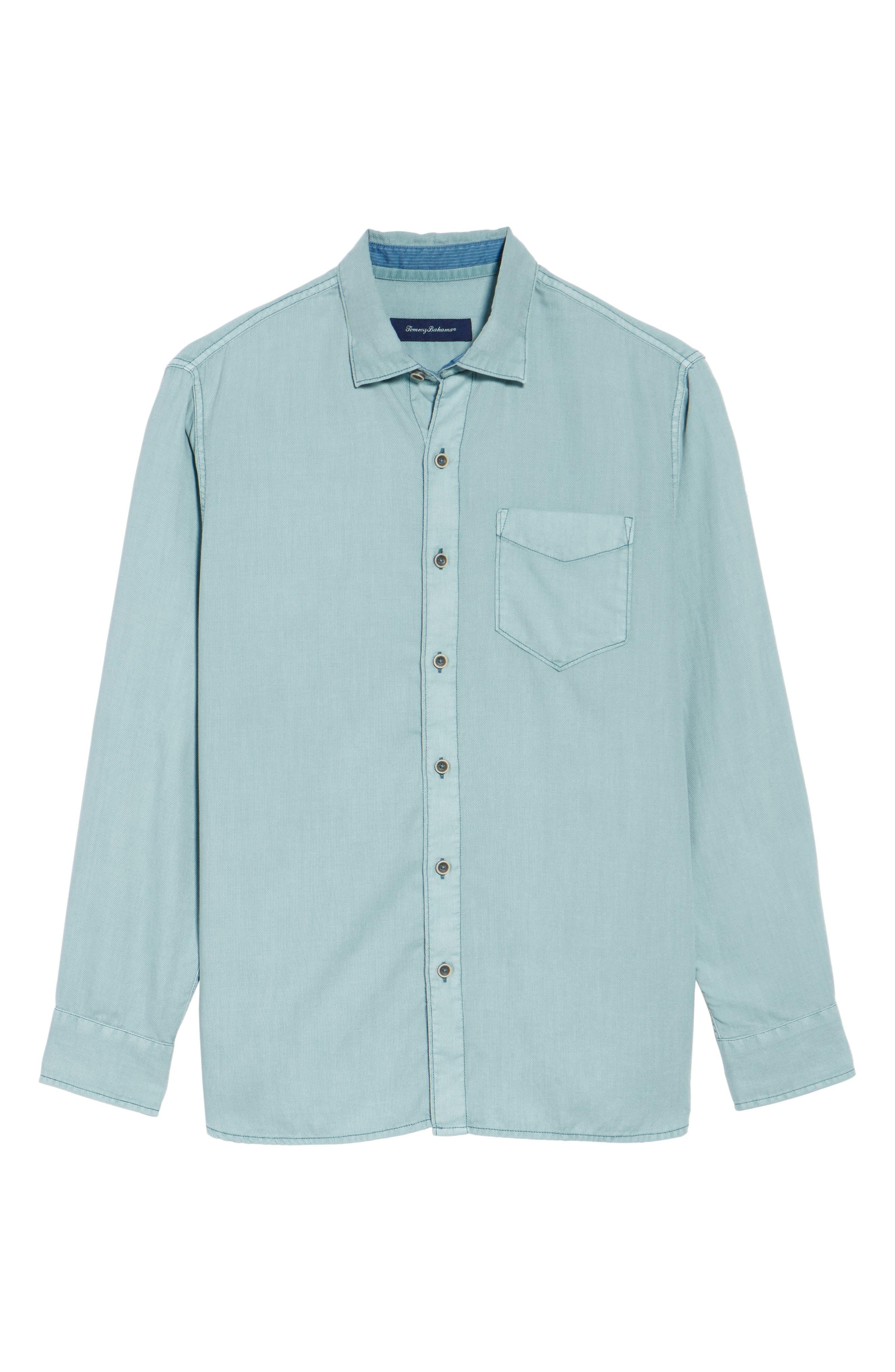 Dobby Dylan Sport Shirt,                             Alternate thumbnail 16, color,