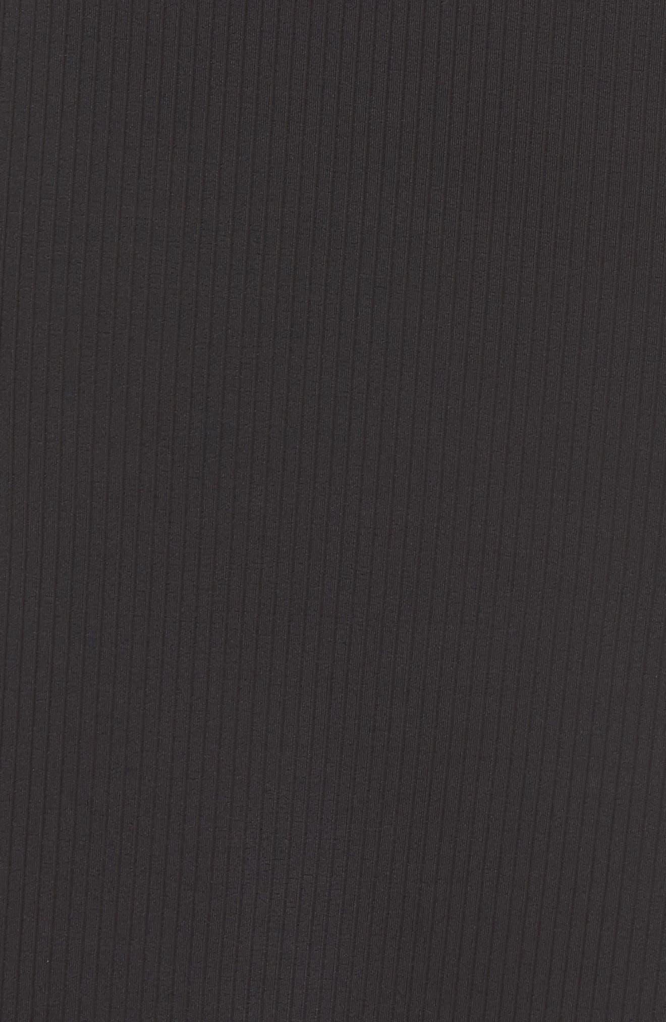 PUMA,                             Classics Ribbed Skirt,                             Alternate thumbnail 6, color,                             PUMA BLACK