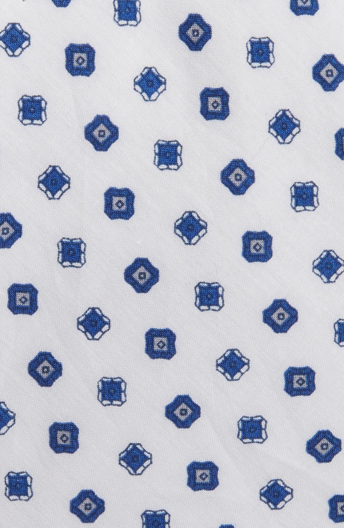 Medallion Cotton Tie,                             Alternate thumbnail 2, color,                             100