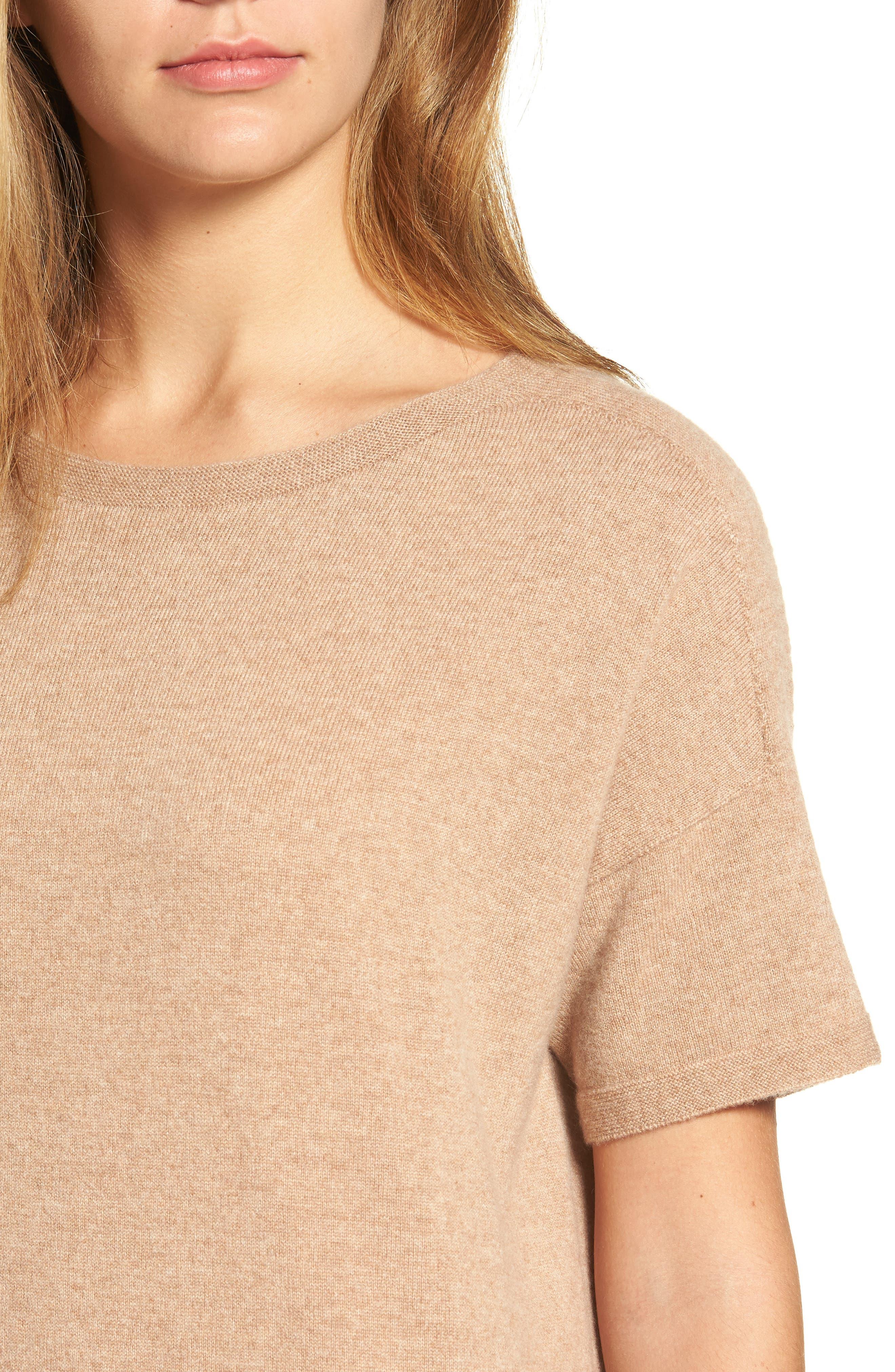 Cashmere Tunic Sweater,                             Alternate thumbnail 11, color,