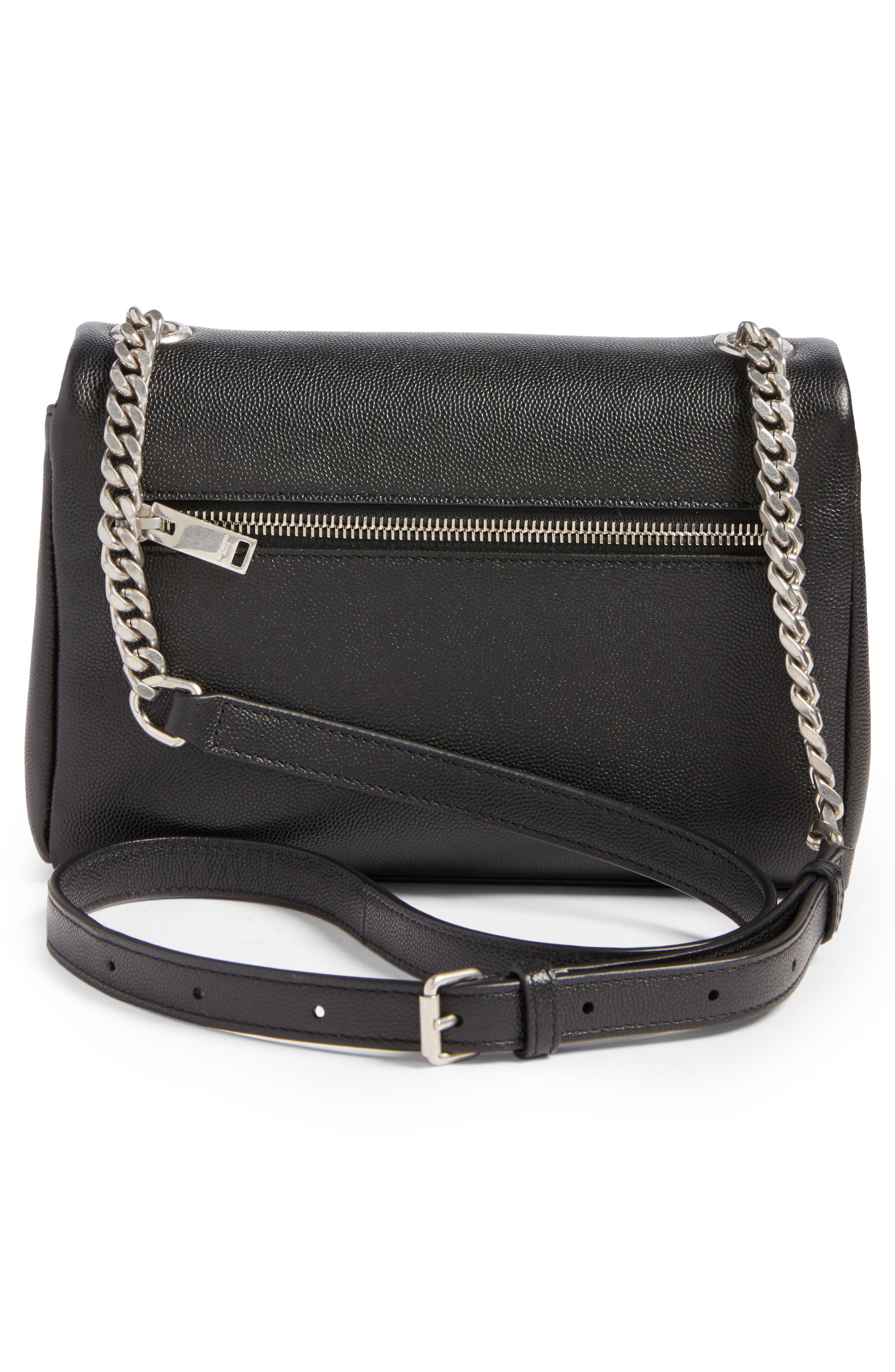 West Hollywood Calfskin Leather Messenger Bag,                             Alternate thumbnail 10, color,