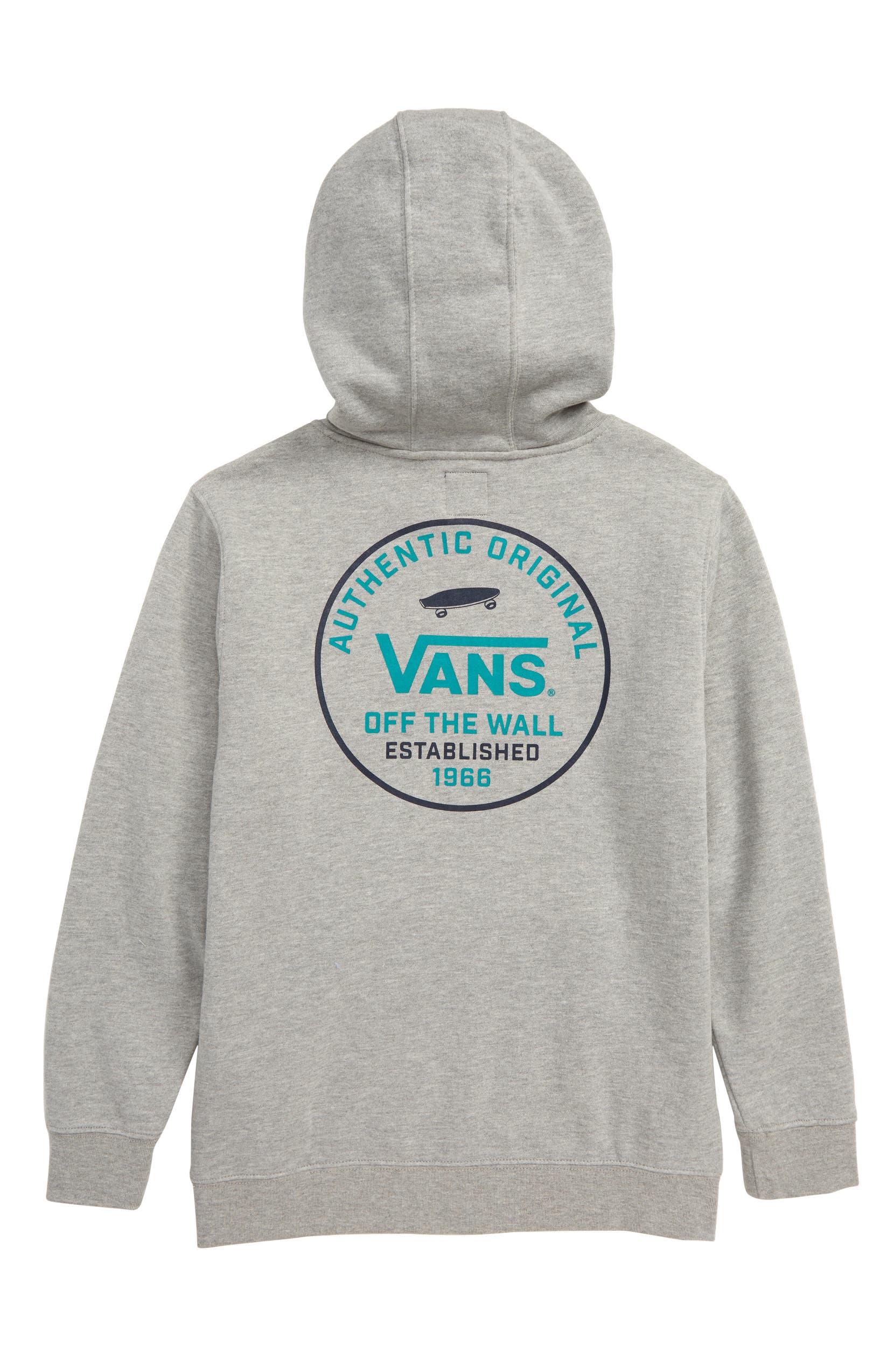 ea7129aaae Vans Circle Logo Hoodie (Big Boys)