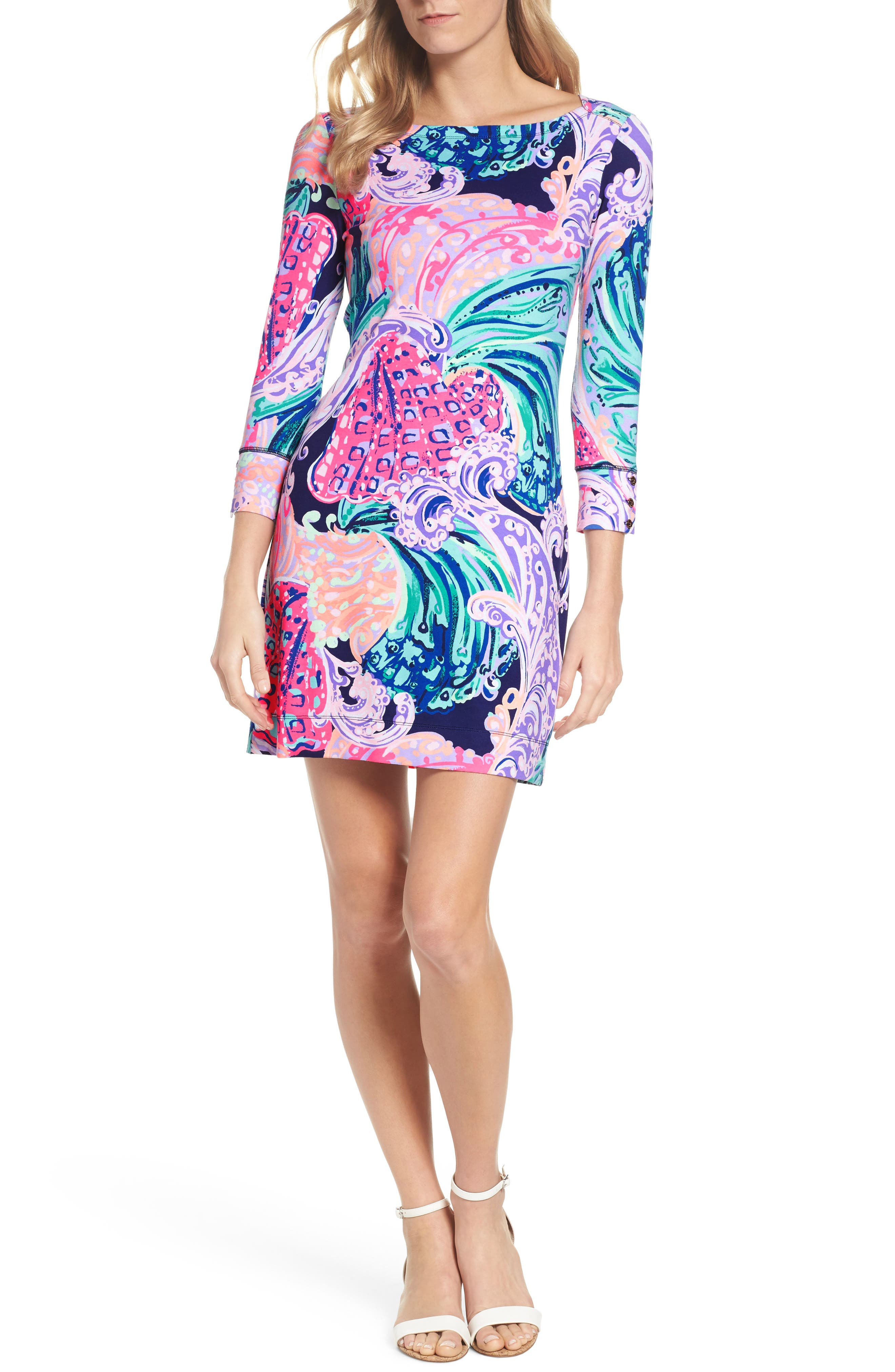 Sophie UPF 50+ Dress,                             Main thumbnail 1, color,                             599