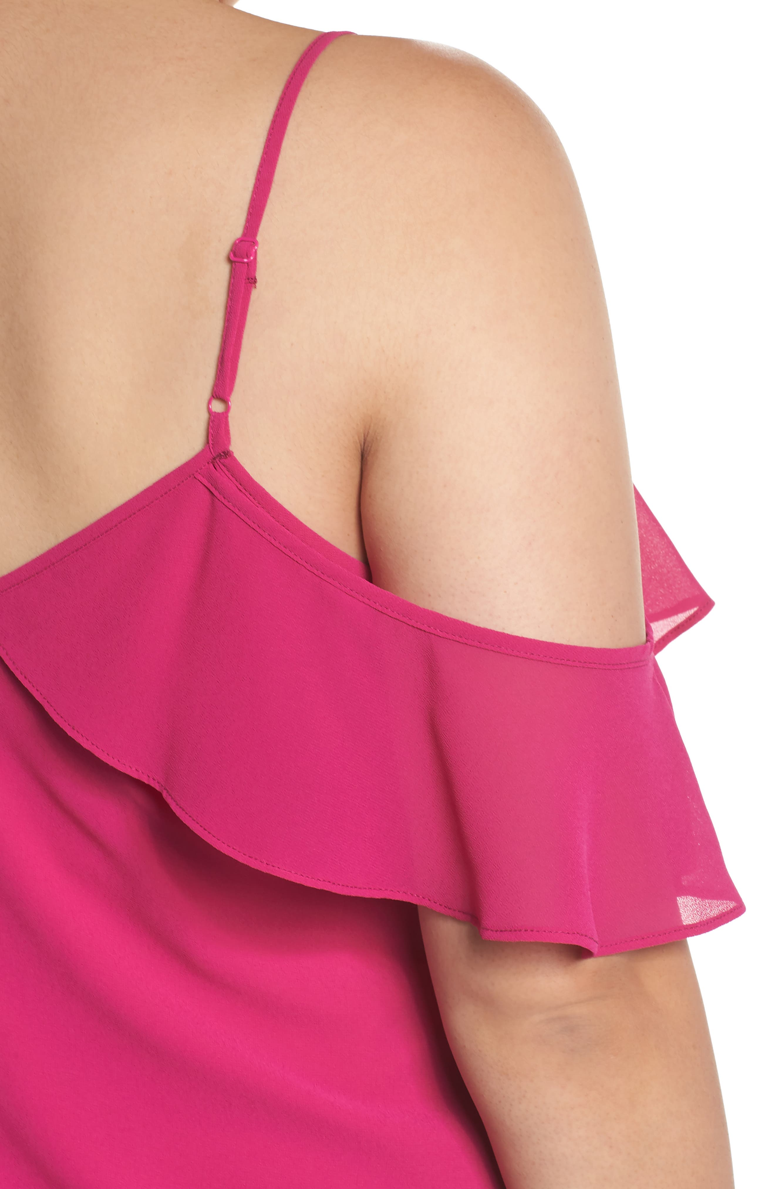 One Ruffle Camisole,                             Alternate thumbnail 4, color,                             650