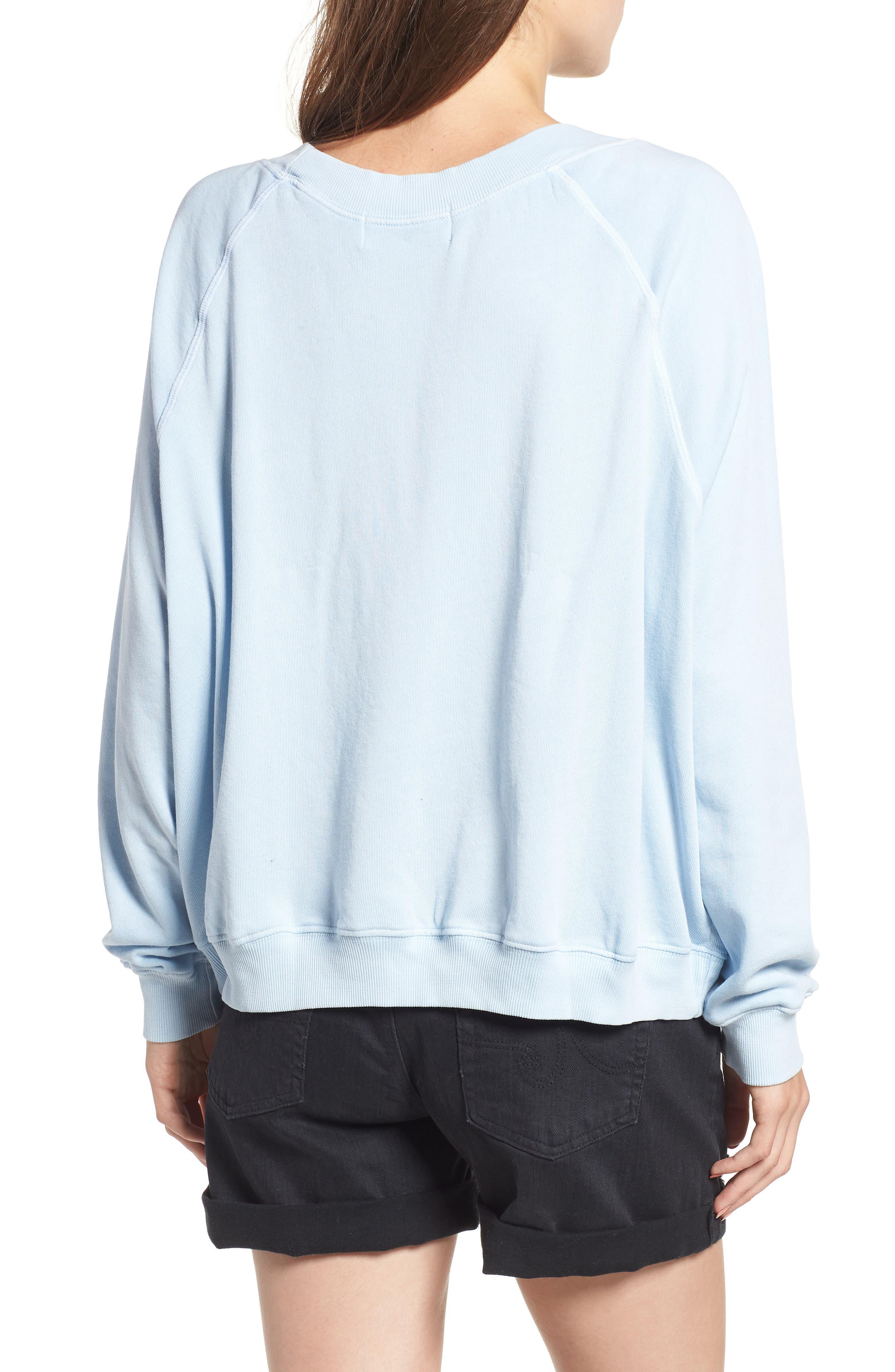 Malibu Crest Sommers Sweatshirt,                             Alternate thumbnail 2, color,                             400
