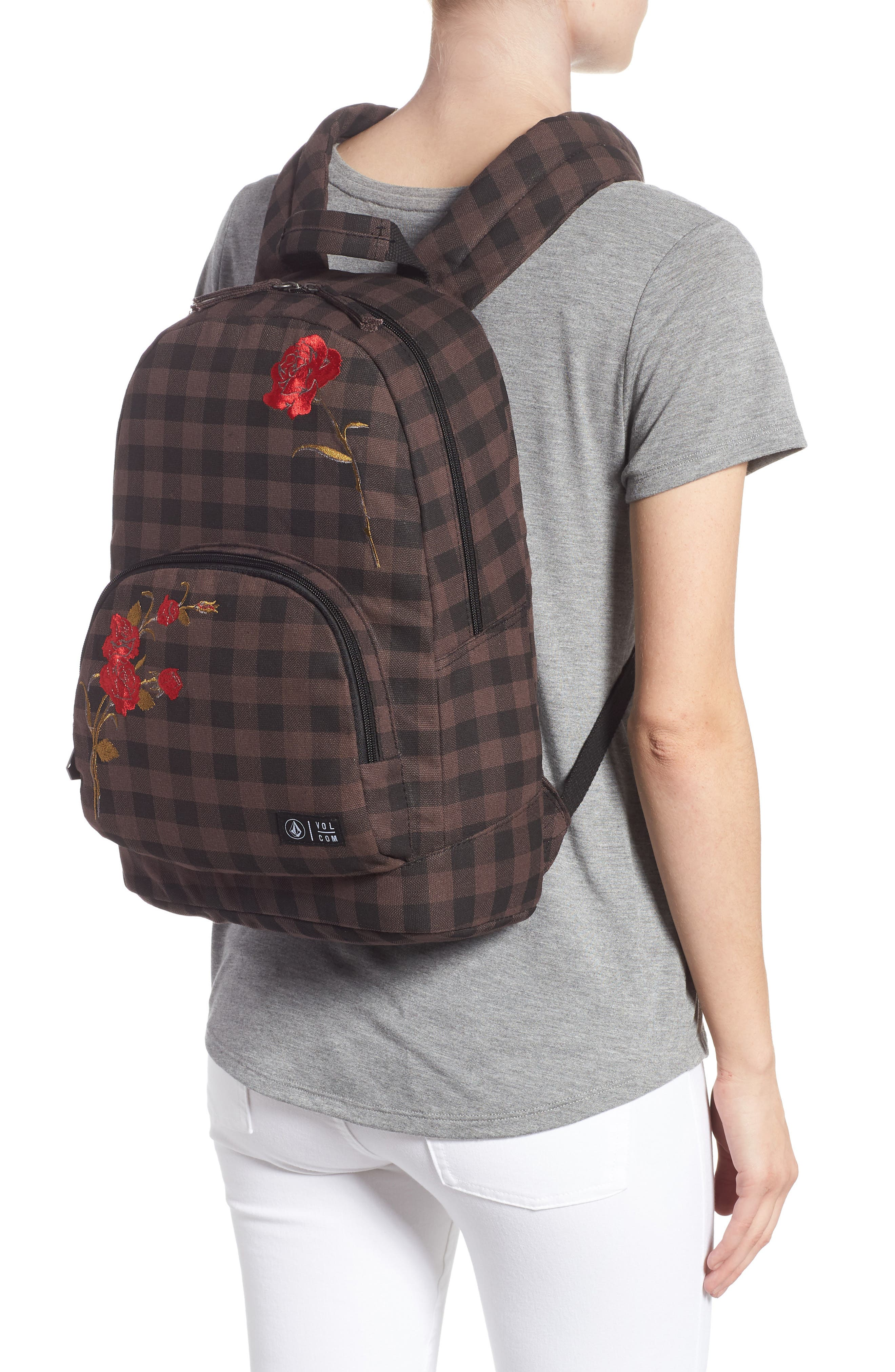 Schoolyard Canvas Backpack,                             Alternate thumbnail 2, color,                             200