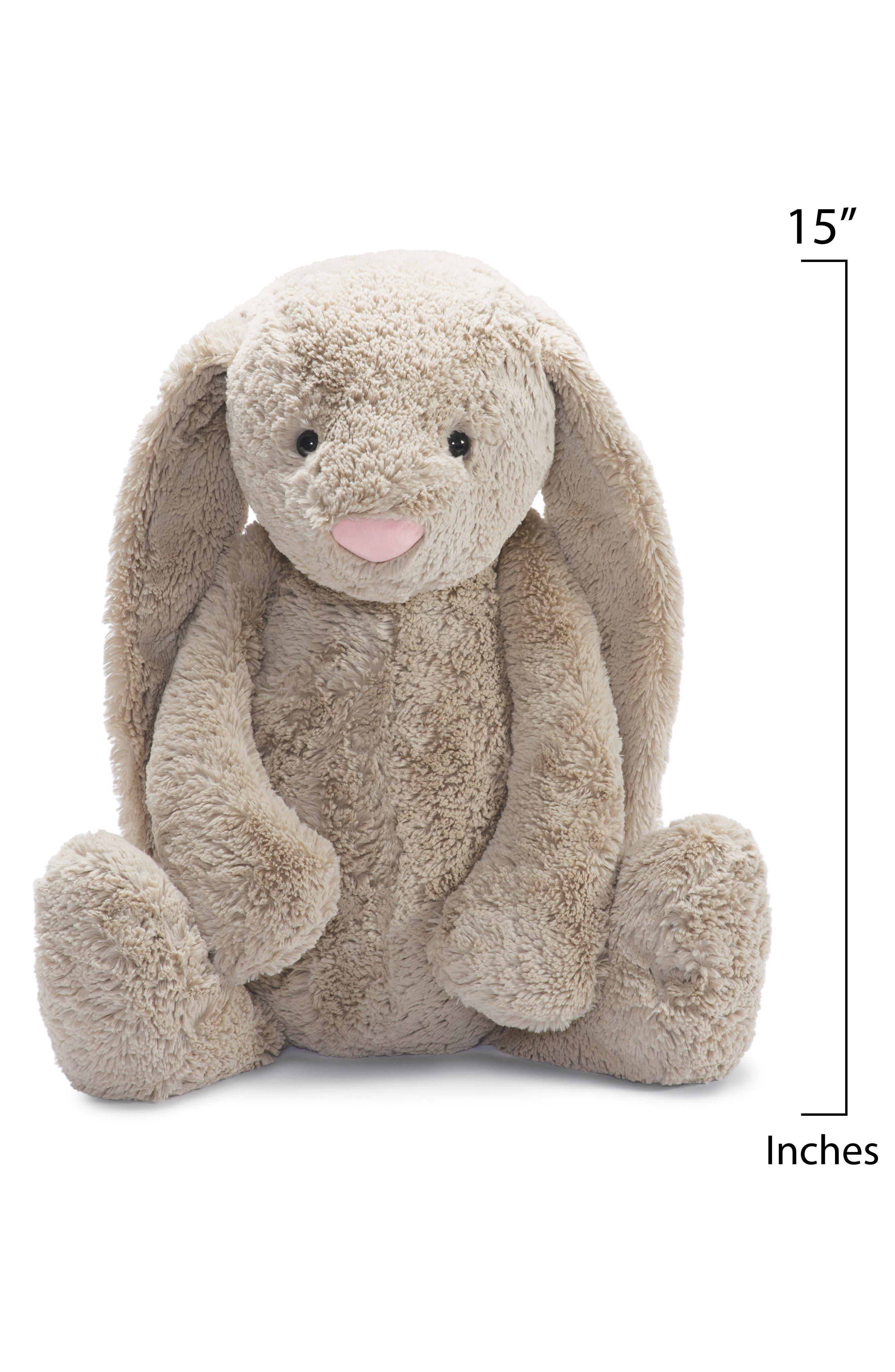'Large Bashful Bunny' Stuffed Animal,                             Alternate thumbnail 2, color,                             250