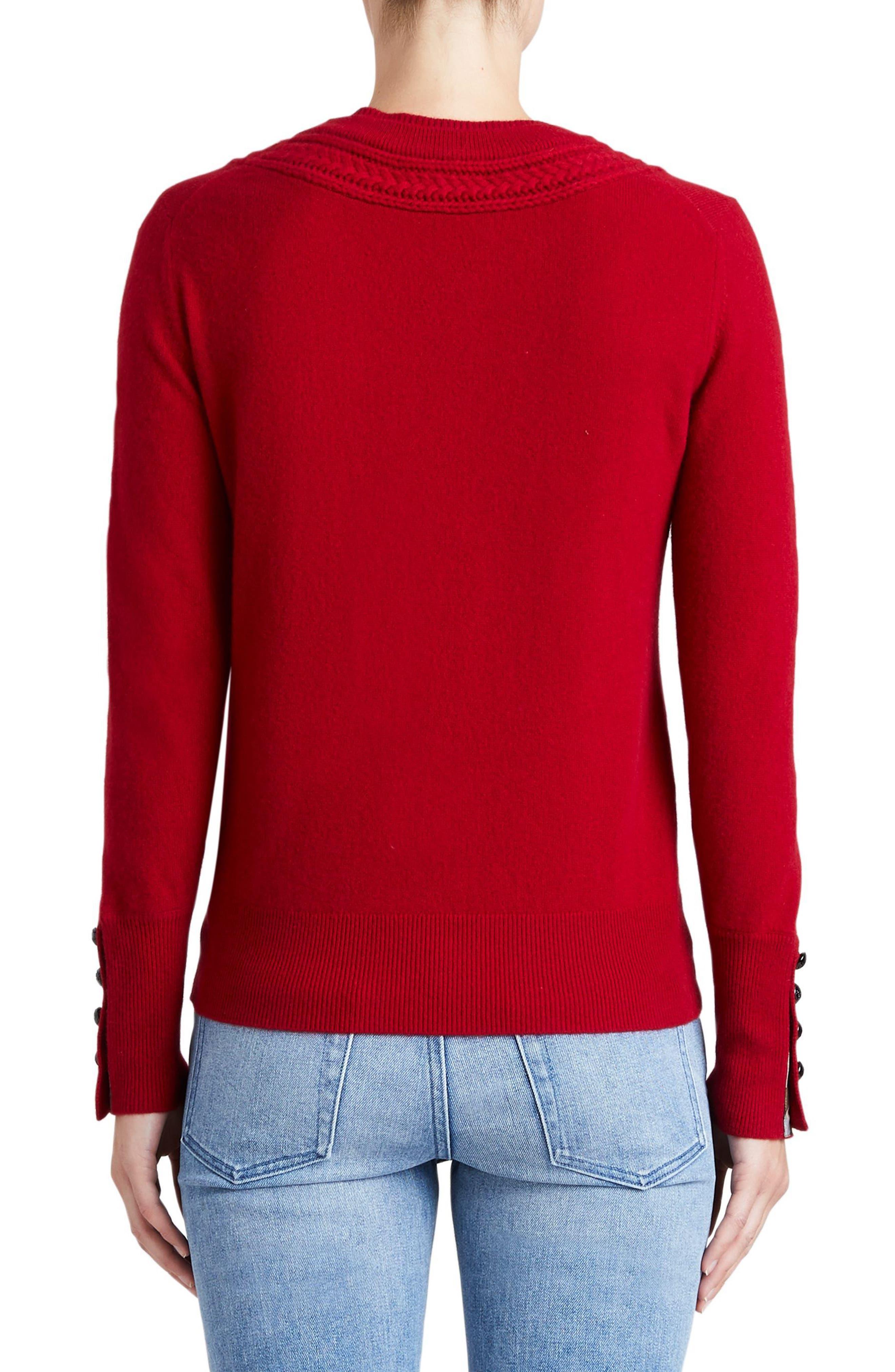 Carapelle Cashmere Sweater,                             Alternate thumbnail 6, color,
